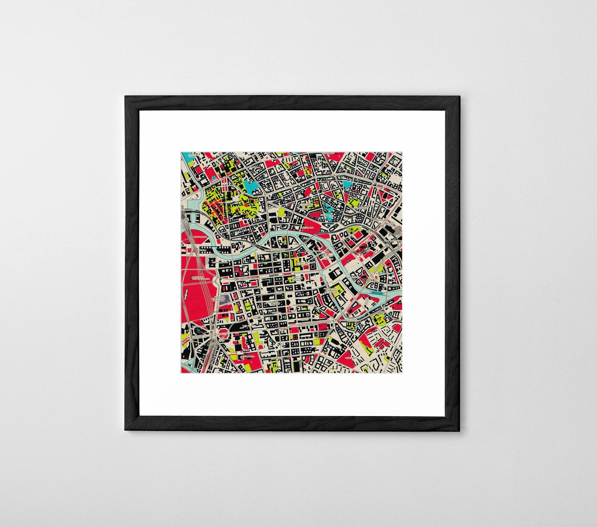Personalized Map Print, Poster Or Canvas – Posterhaste Pertaining To Most Current Personalized Map Wall Art (View 16 of 20)
