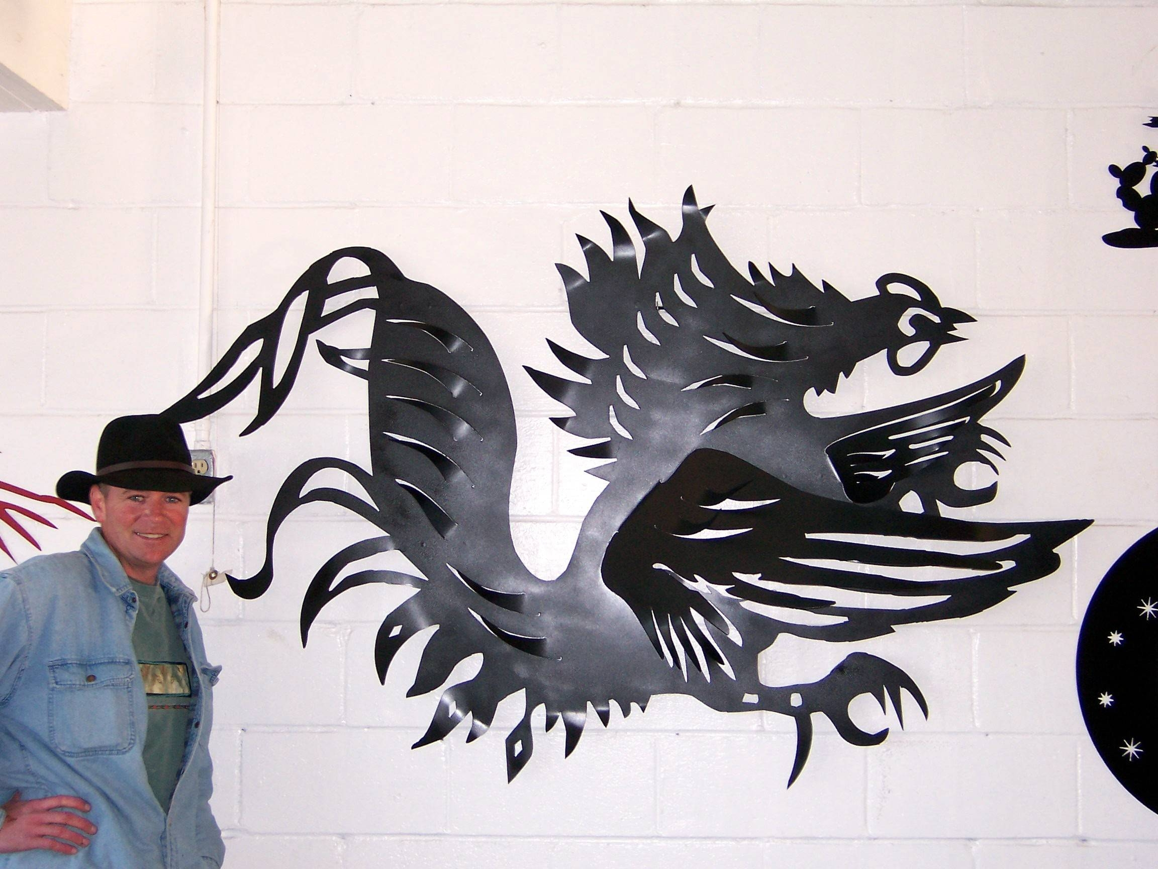 Photo Gallery Intended For Best And Newest Plasma Cut Metal Wall Art (View 10 of 20)