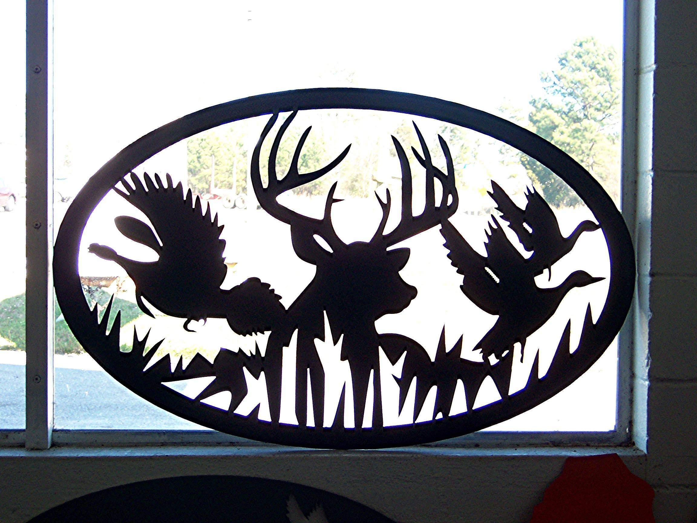 Photo Gallery With Regard To Most Popular Wildlife Metal Wall Art (View 11 of 20)