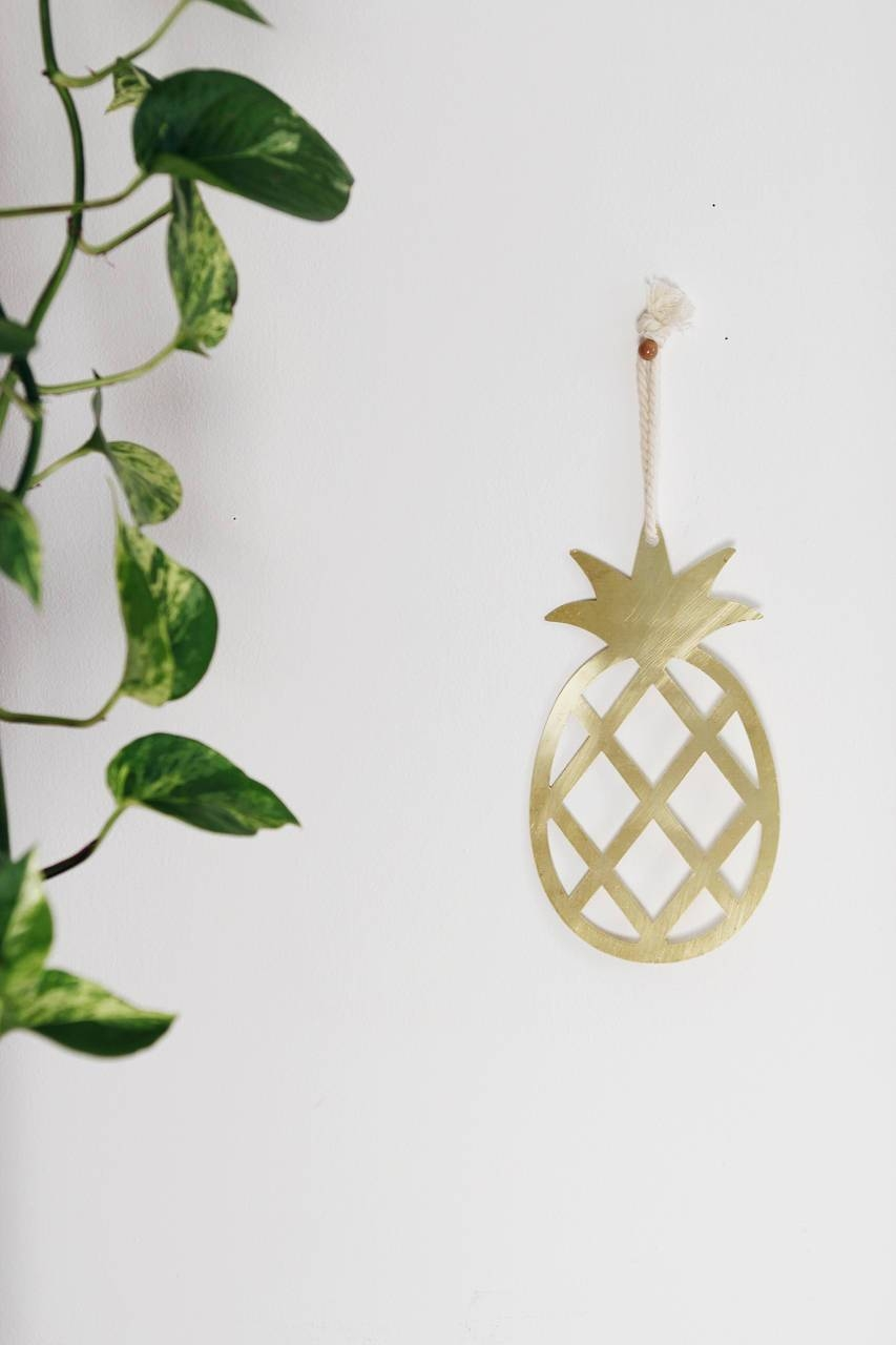 Pineapple Metal Wall Art Pineapple Wall Art Pineapple Throughout Newest Pineapple Metal Wall Art (View 15 of 20)