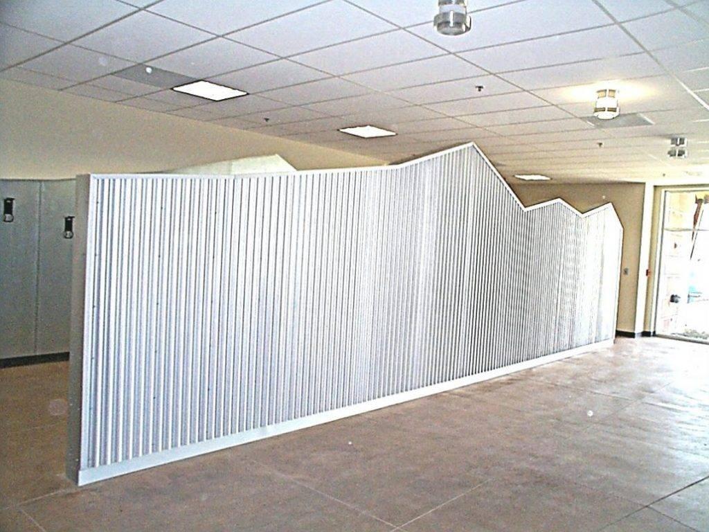 Pleasant Sheet Metal Wall Panels Art Rust Cladding Wallpaper Decor Throughout Latest Sheet Metal Wall Art (View 12 of 20)