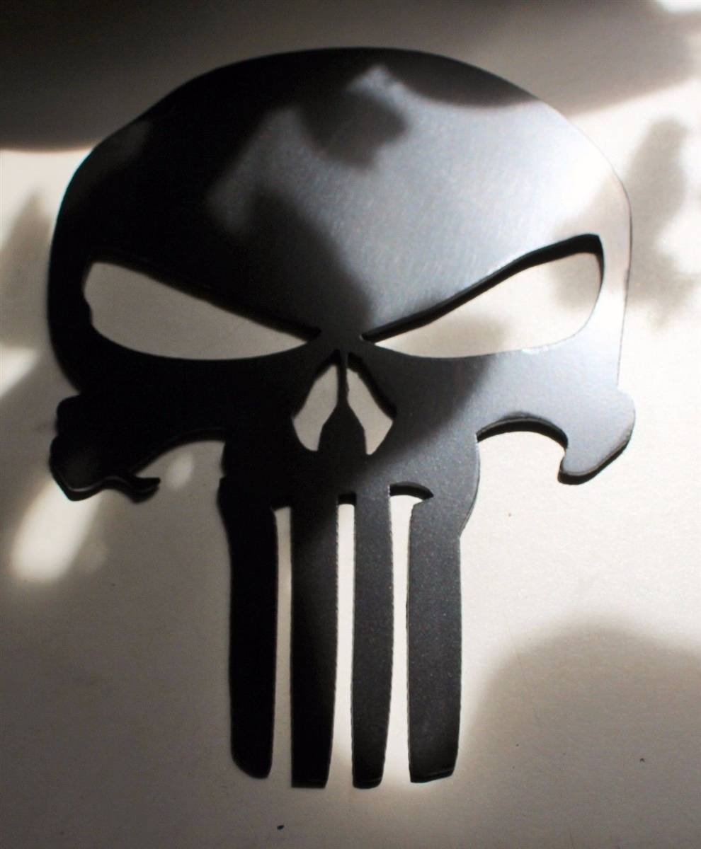 Punisher24-2 throughout Most Recent Tall Metal Wall Art