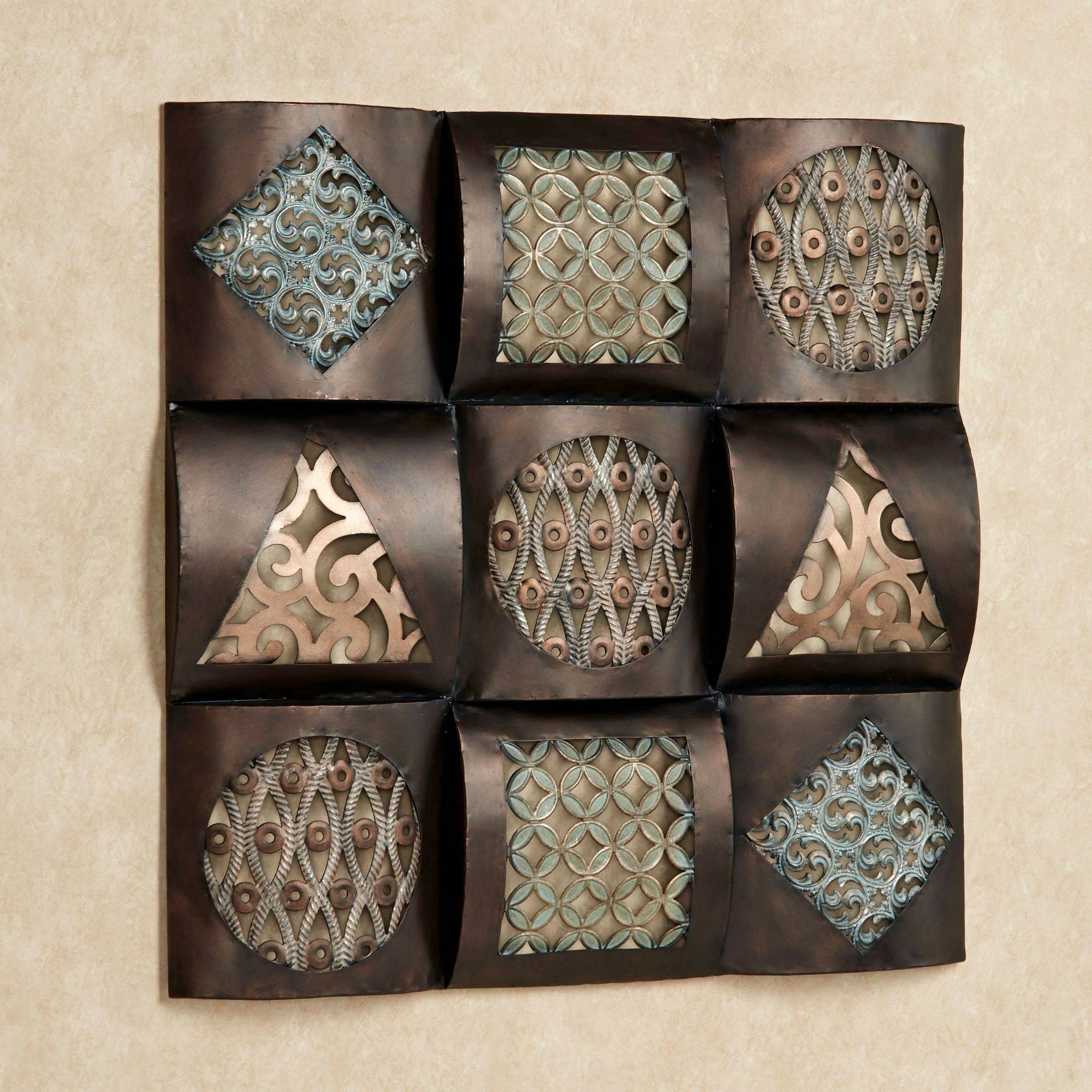 Featured Photo of Square Metal Wall Art