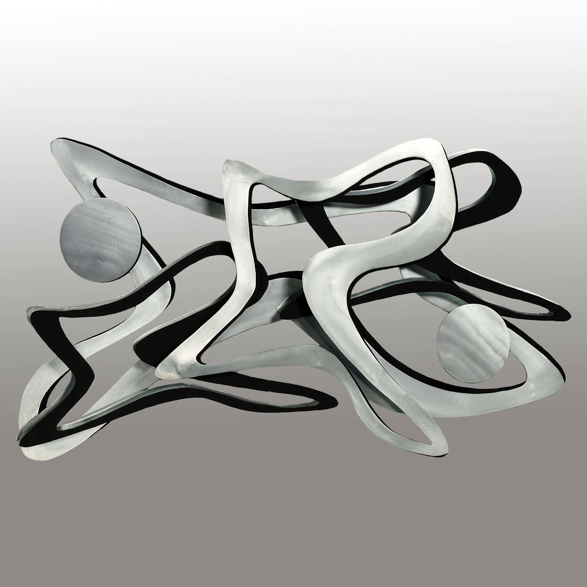 Rave Metal Wall Sculpture For Recent Contemporary Metal Wall Art Sculptures (View 4 of 20)