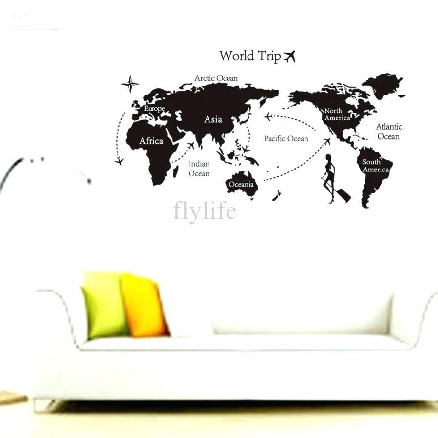Removable Wall Decal Quotes Wall Ideas Buy Live Laugh Love Regarding Newest Butterfly Map Wall Art (View 11 of 20)
