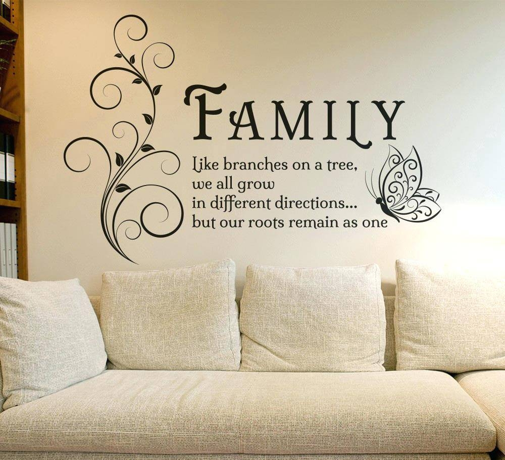 Removable Wall Decal Quotes Wall Ideas Buy Live Laugh Love With Regard To Most Up To Date Butterfly Map Wall Art (Gallery 20 of 20)