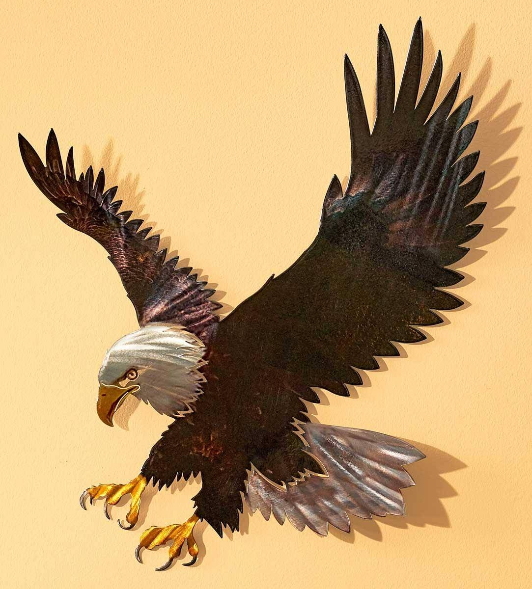 Explore Gallery of Eagle Metal Wall Art (Showing 6 of 20 Photos)