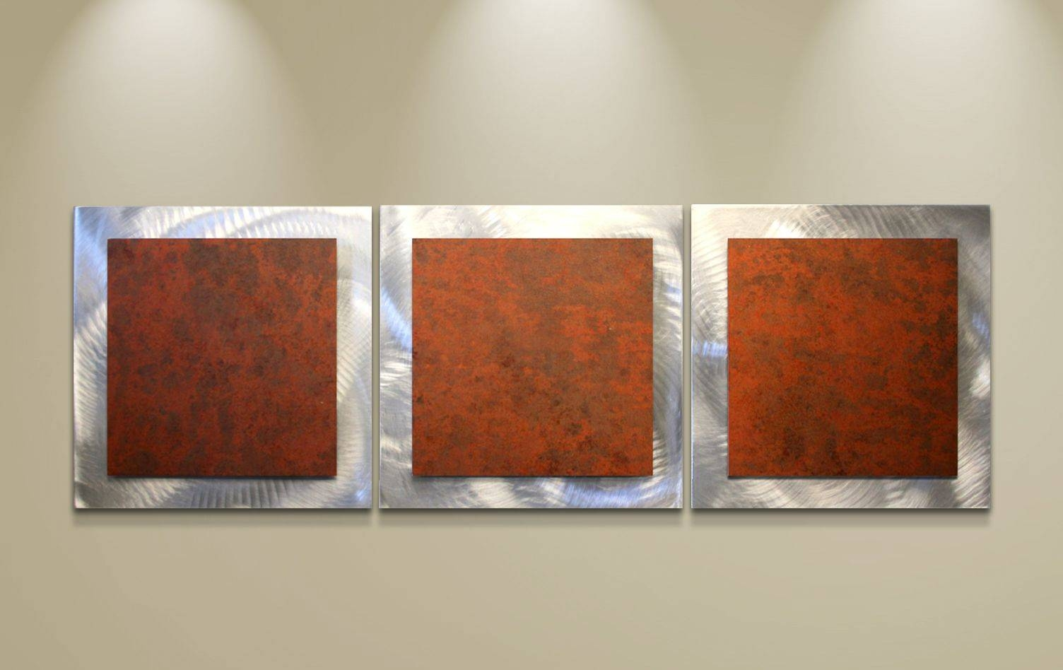Rusty Essence | Abstract Wall Art | Minimalist Steel Sculpture Inside Most Recent Rusted Metal Wall Art (Gallery 1 of 20)