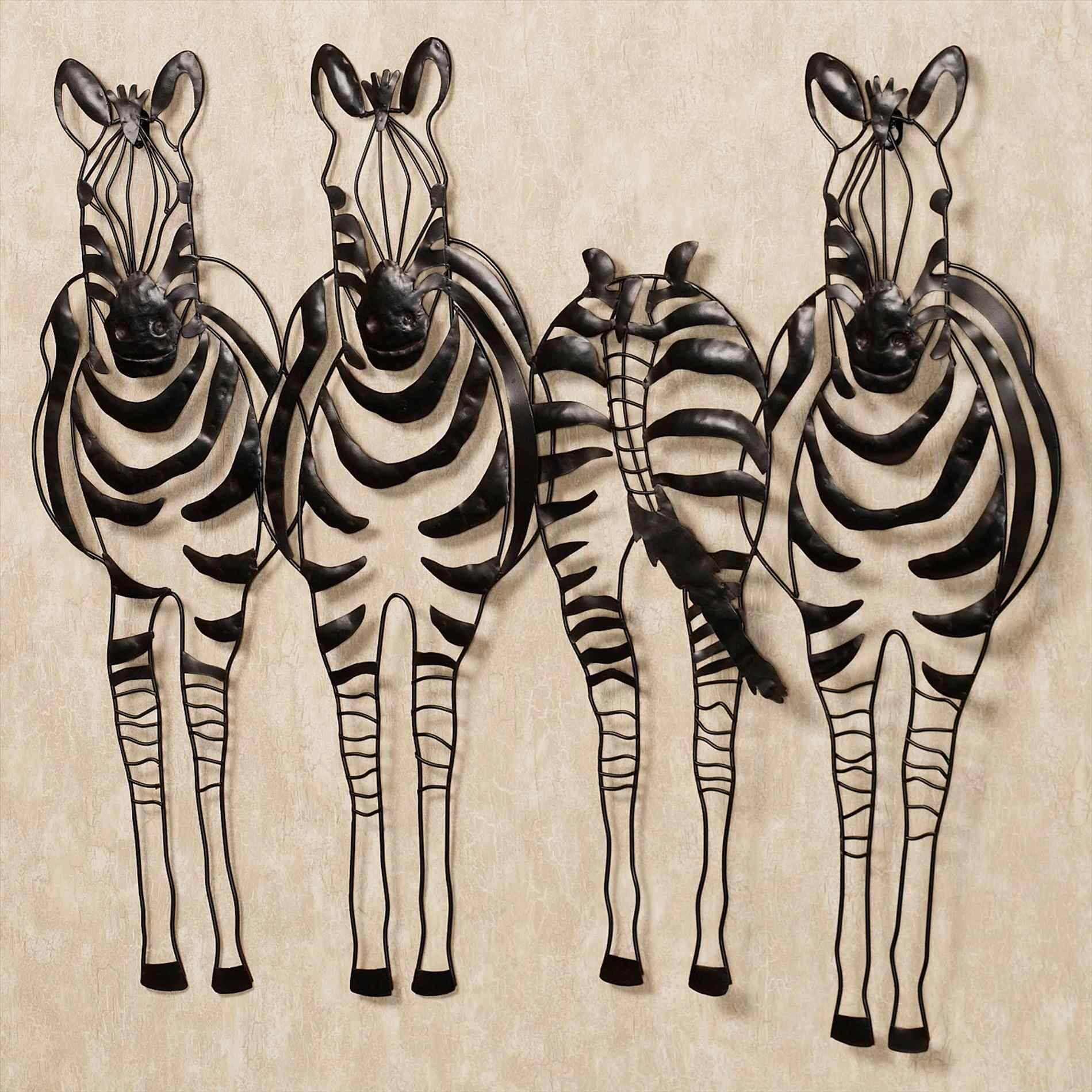 Safari Metal Wall Art Animals And African Home Decor Touch Of With Regard To Most Current Metal Wall Art Animals (View 2 of 20)