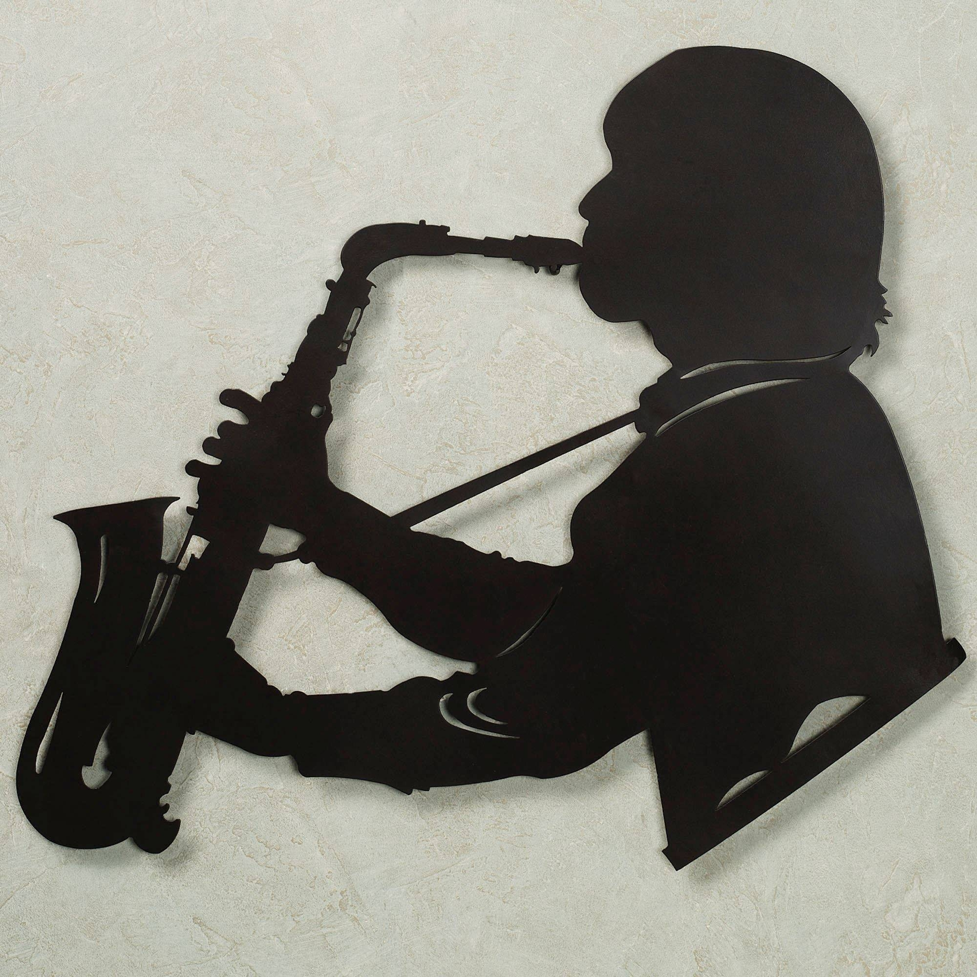 Saxophone Vibes Metal Wall Art Regarding Latest Jazz Metal Wall Art (View 11 of 20)