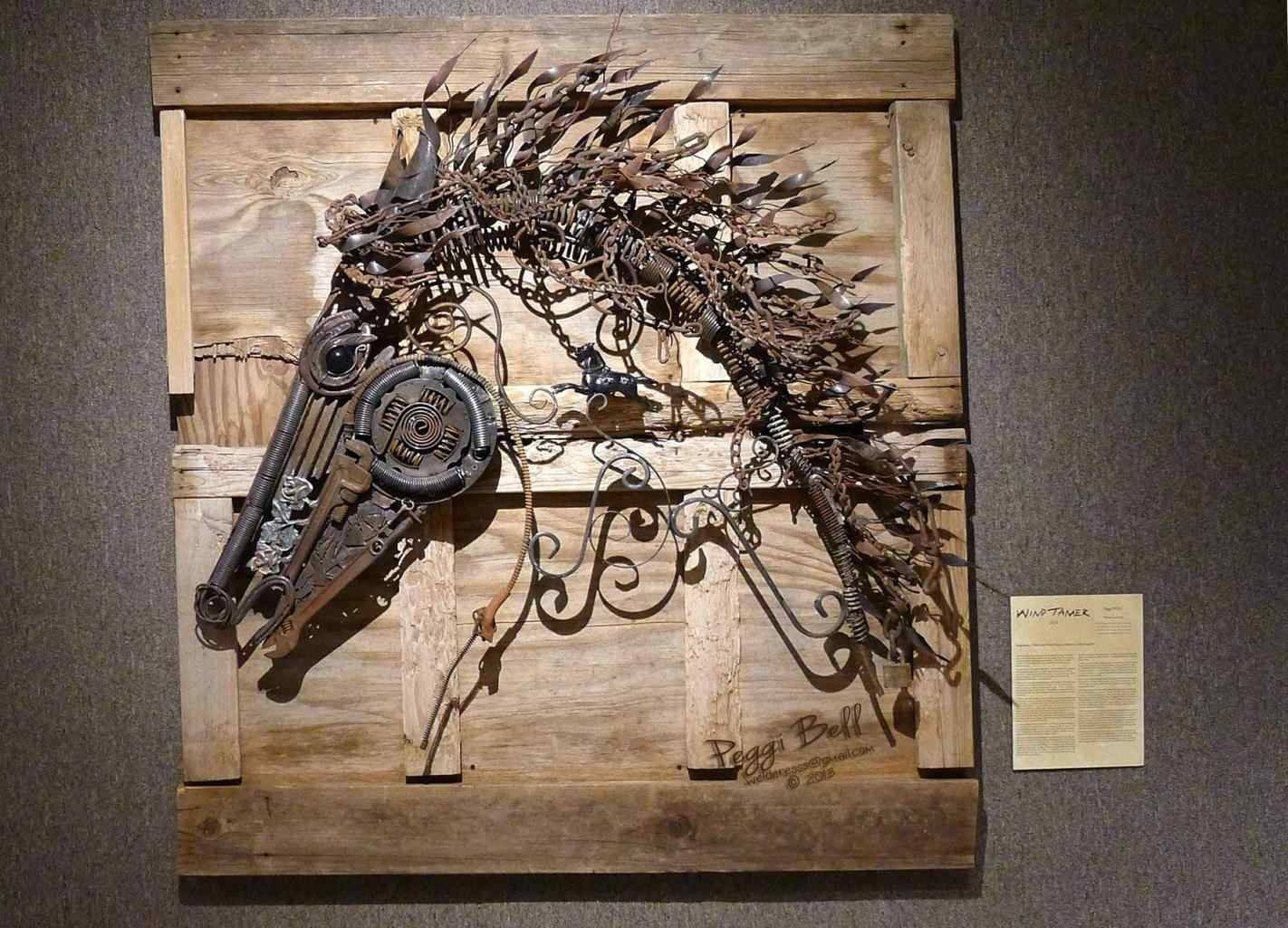 Featured Photo of Scrap Metal Wall Art