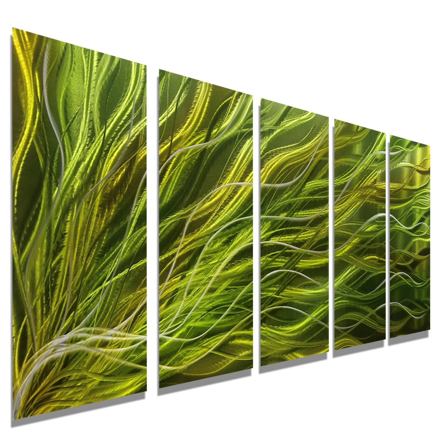 Featured Photo of Green Metal Wall Art