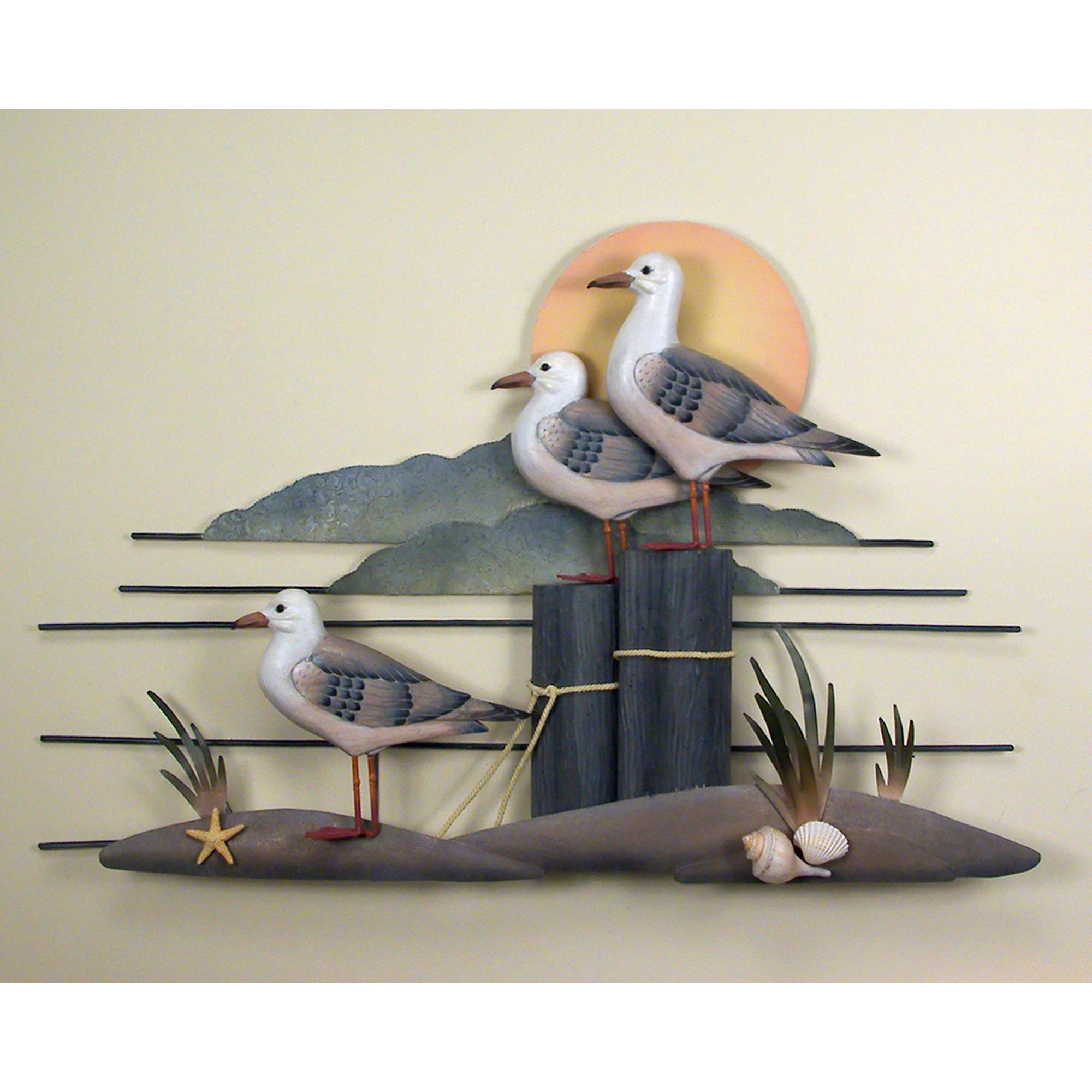 Featured Photo of Seagull Metal Wall Art