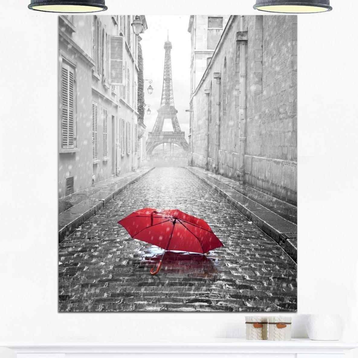 Shine Cityscape Glossy With Sunset Colors Paris Paris Metal Wall In Latest Paris Metal Wall Art (View 7 of 20)
