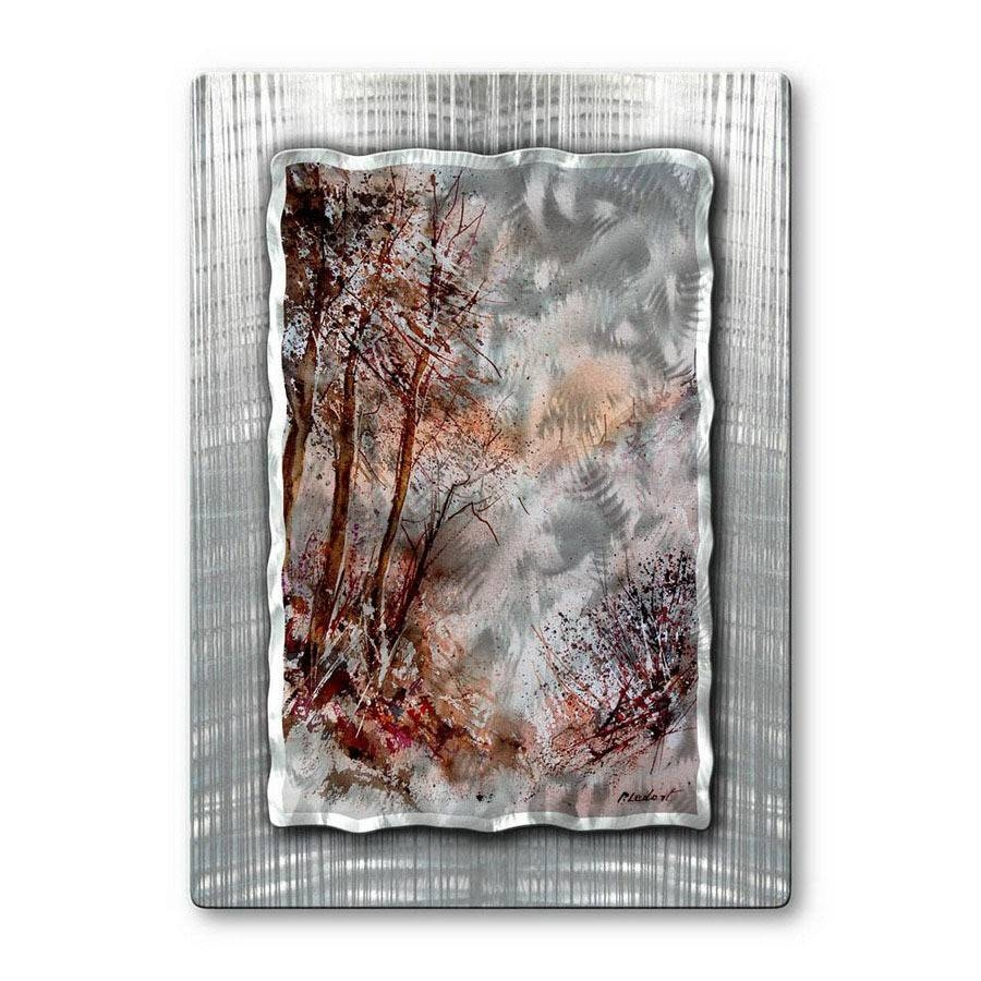 Shop All My Walls 23 In W X 32 In H Nature Metal Wall Art At Lowes Pertaining To Latest Nature Metal Wall Art (View 10 of 20)