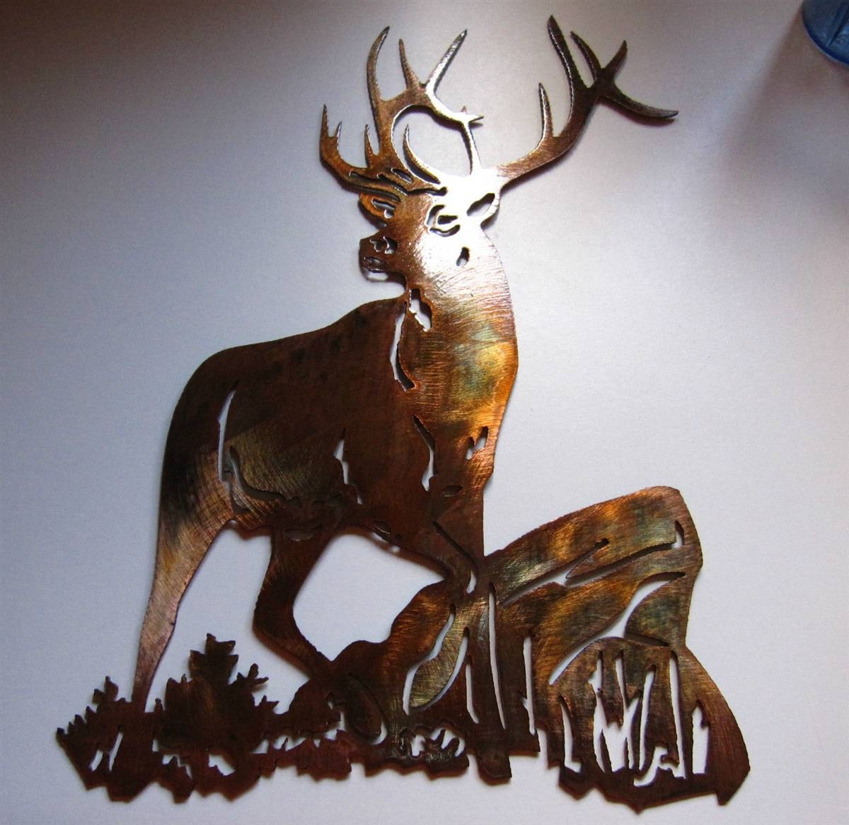 Smallelkonrock 2 In 2018 Elk Metal Wall Art (View 17 of 20)