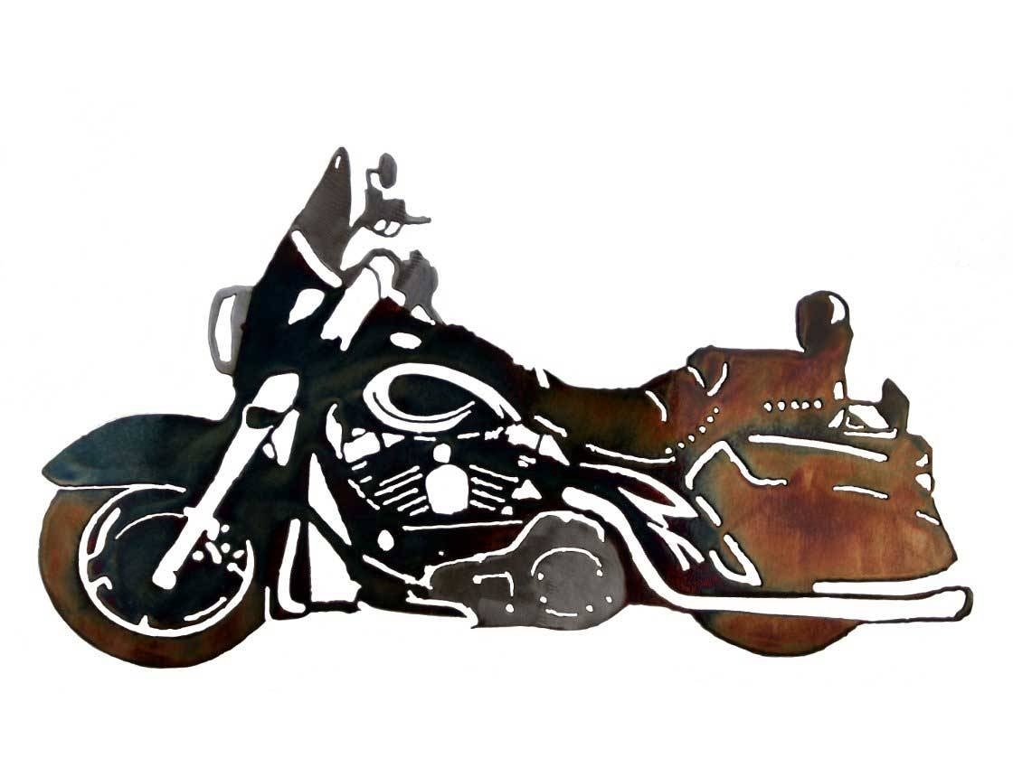 Smw126 Custom Metal Motorcycle Wall Art Hd Classic – Sunriver Inside Most Popular Car Metal Wall Art (View 10 of 20)