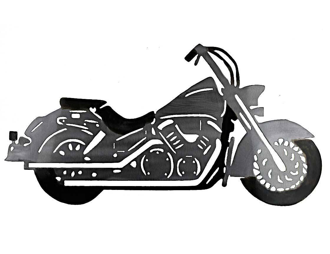 Smw278 Custom Metal Motorcycle Wall Art Honda – Sunriver Metal Works With Regard To 2017 Motorcycle Metal Wall Art (View 8 of 20)