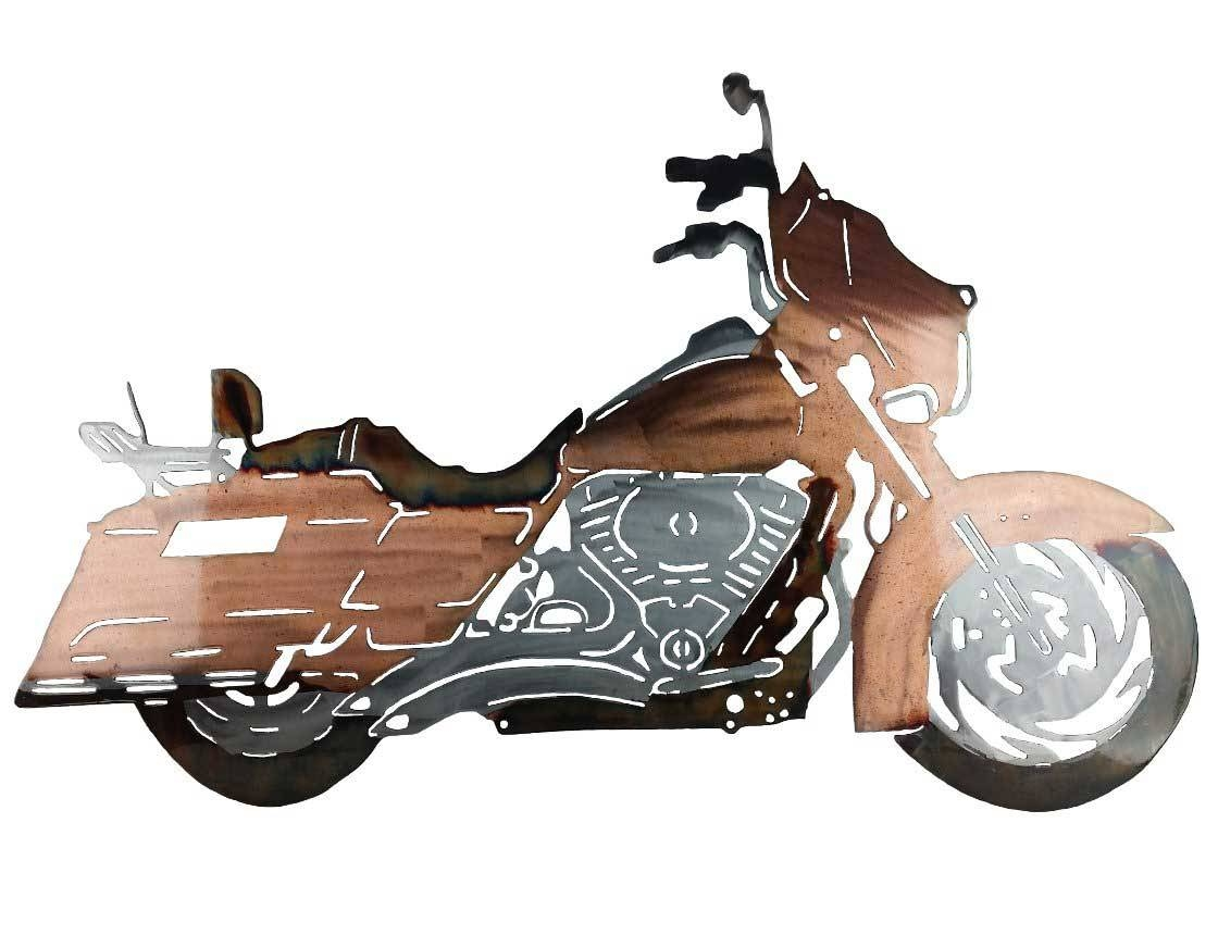 Smw317 Custom Metal Motorcycle Wall Art Street Glide – Sunriver With Regard To Latest Motorcycle Metal Wall Art (View 4 of 20)