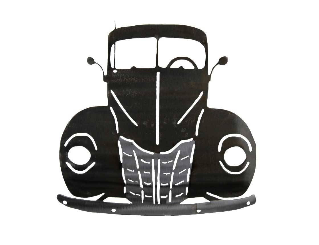 Smw363 Metal Classic Car 1940 Ford Truck – Sunriver Metal Works Pertaining To 2017 Car Metal Wall Art (View 19 of 20)