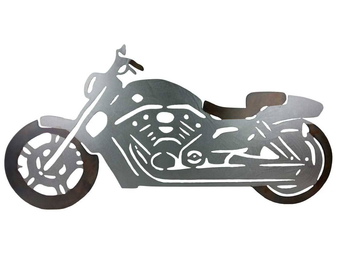 Smw391 Custom Metal Motorcycle Wall Art V Rod – Sunriver Metal Works Within 2018 Car Metal Wall Art (View 15 of 20)