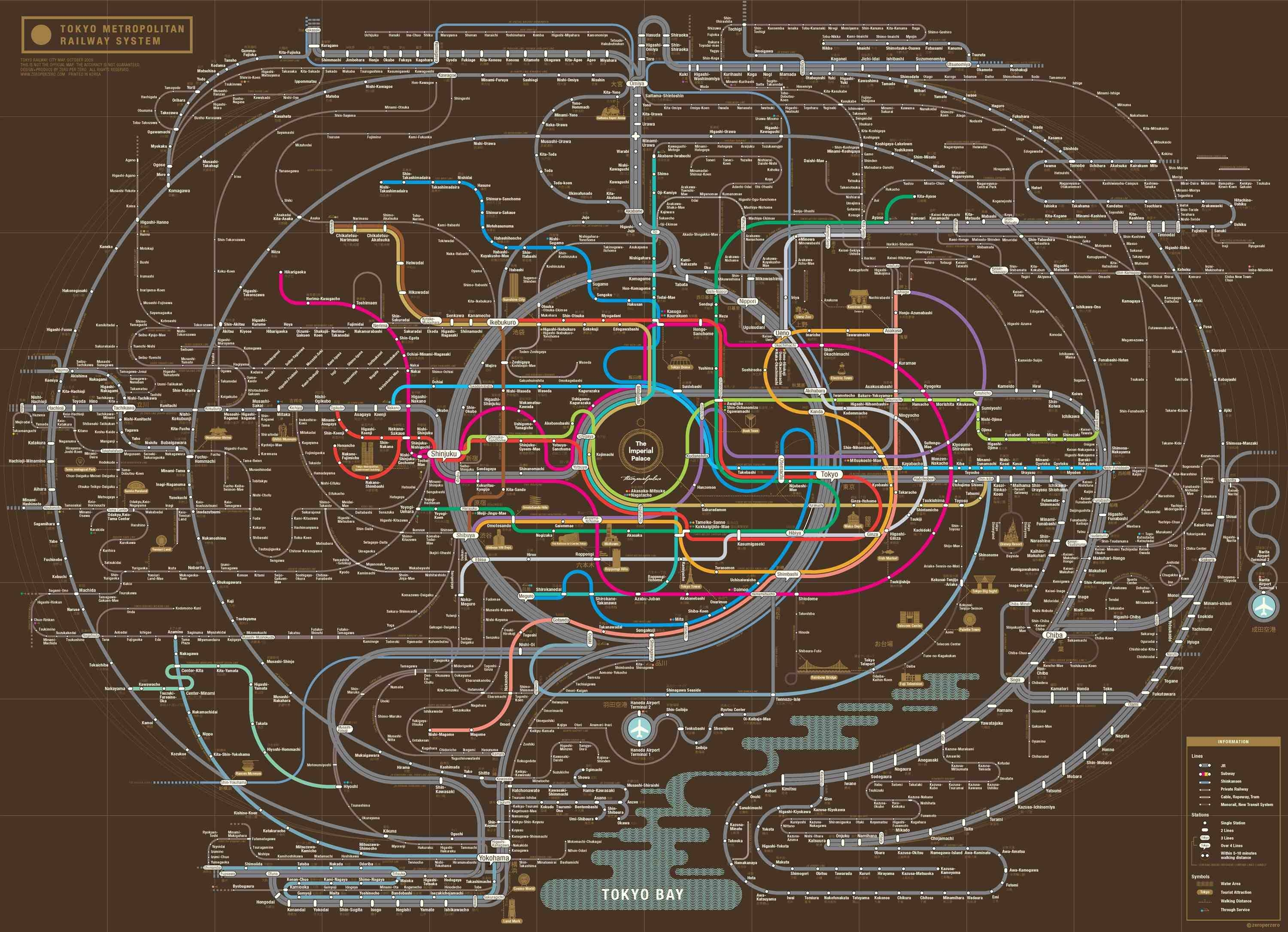 Featured Photo of Metro Map Wall Art