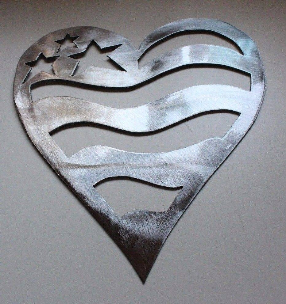 Starheartslvr 2 In Latest Silver Metal Wall Art (View 14 of 20)