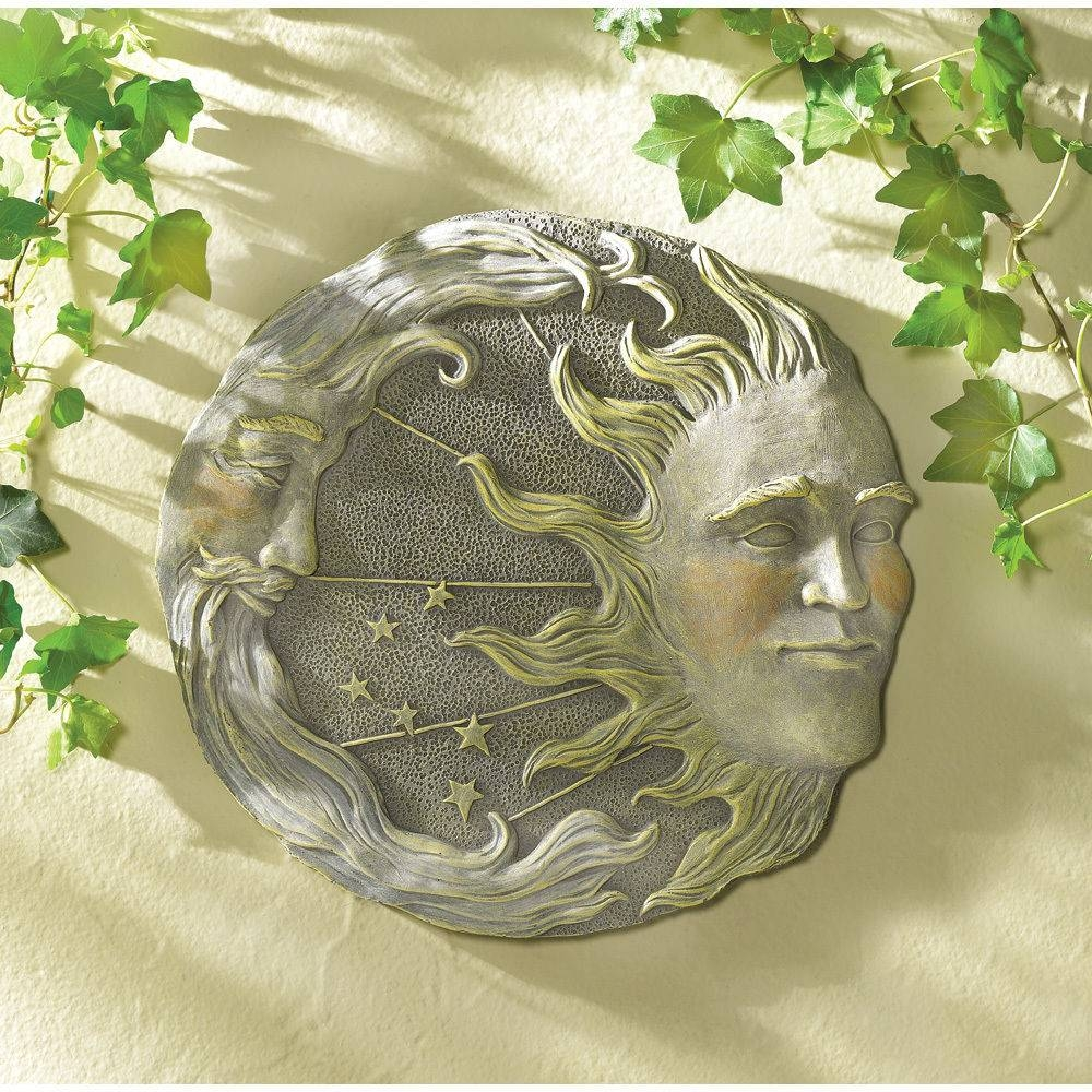 Sun Wall Decor | Ebay Within 2018 Sun And Moon Metal Wall Art (View 13 of 20)