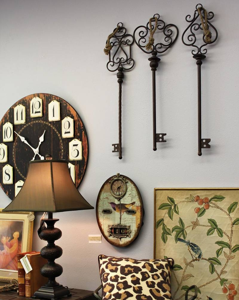 Sunshiny Sculptures Metal Wall Art Decor Along With Good Metal Pertaining To Newest Antique Metal Wall Art (View 4 of 20)