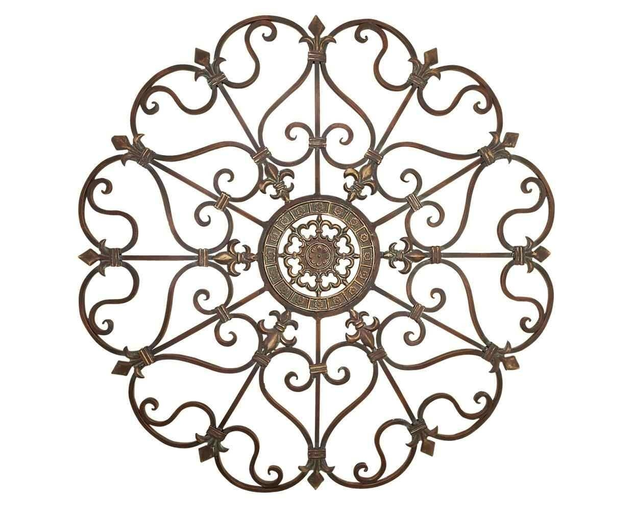 Swirl Metal Wall Art Home Interior Decor – Super Tech Intended For Most Up To Date Swirl Metal Wall Art (View 14 of 20)