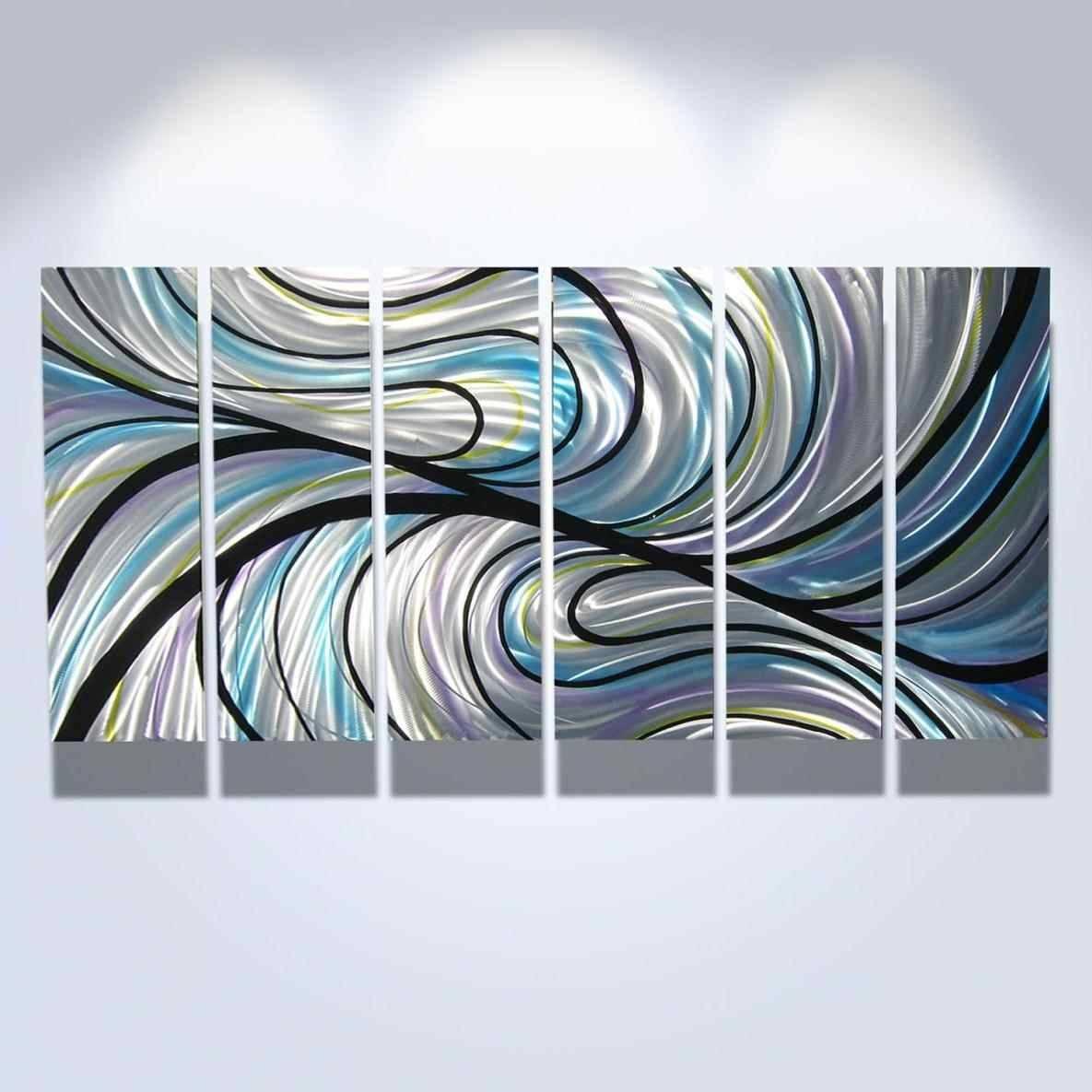 Swirl Metal Wall Art Home Interior Decor – Super Tech Regarding Current Swirl Metal Wall Art (View 2 of 20)