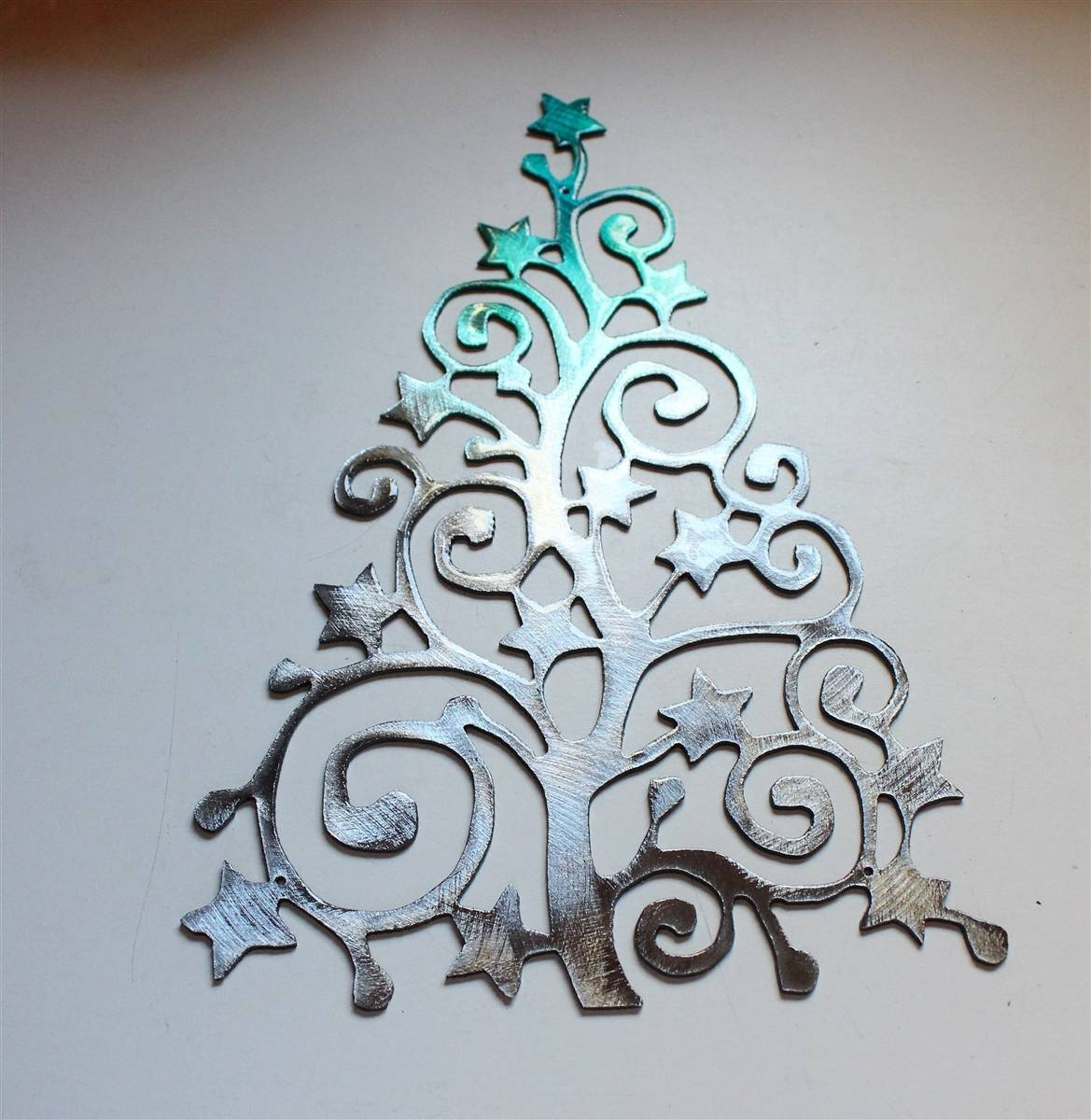 Swirlystartree3 2 Throughout Current Teal Metal Wall Art (View 16 of 20)