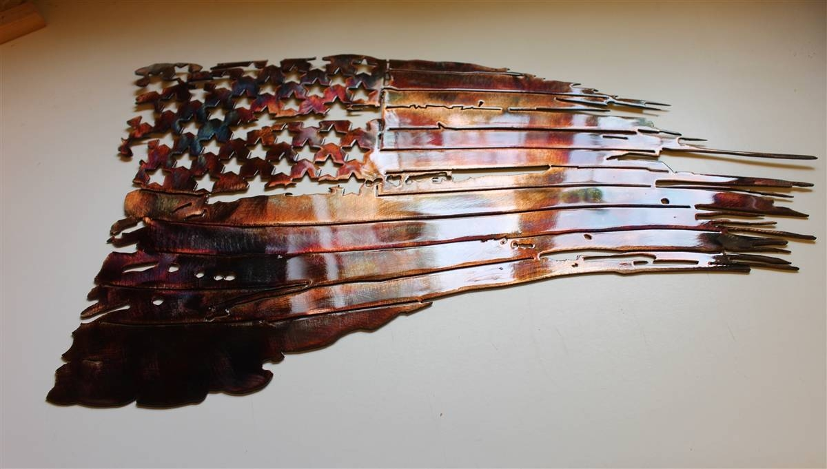 Tatflag 2 Throughout Most Popular Copper Metal Wall Art (View 13 of 20)
