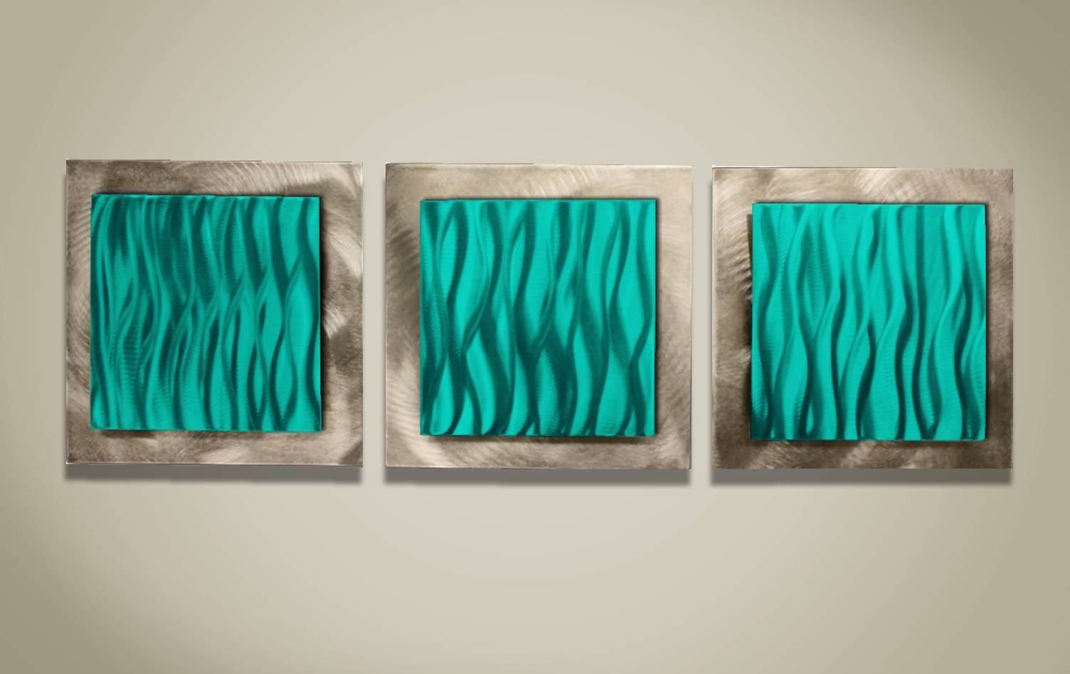 Teal Kitchen, Turquoise Metal Wall Art Decorative Metal Wall Art With Regard To Most Up To Date Teal Metal Wall Art (View 6 of 20)