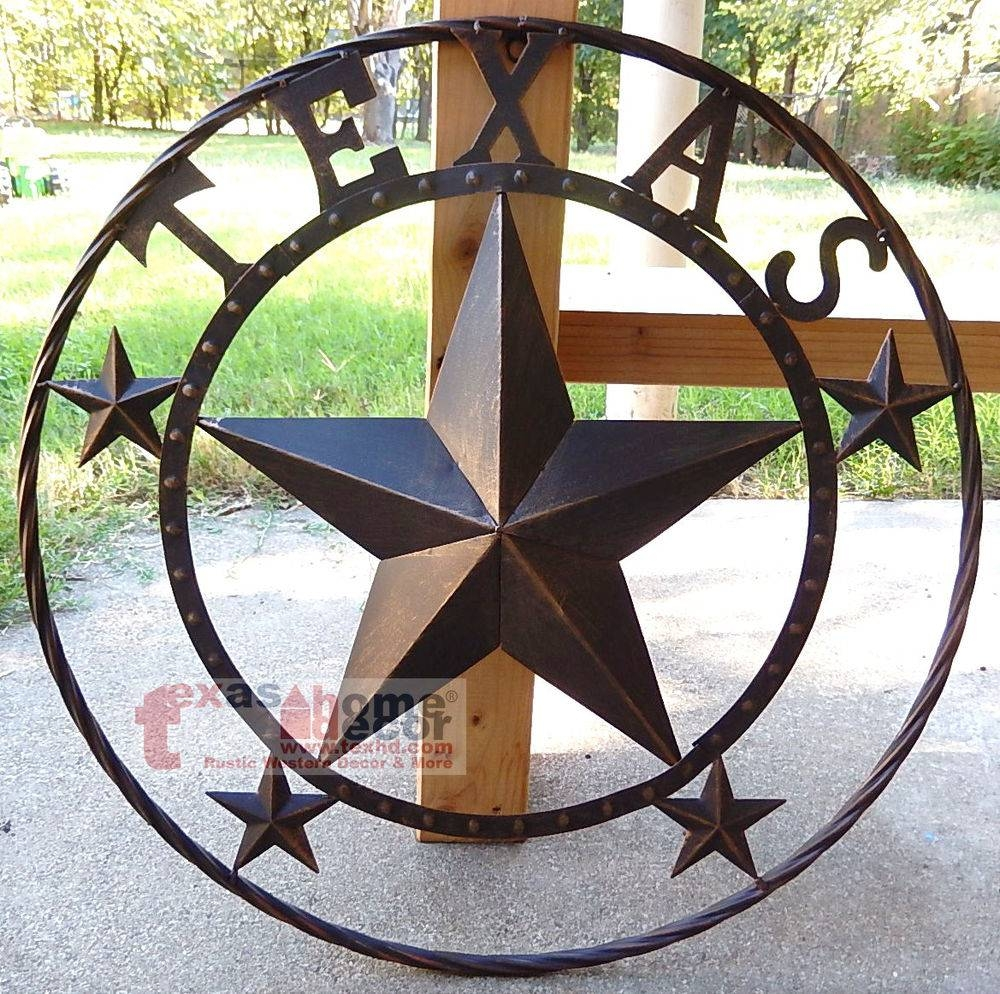 Texas Star: Home & Garden | Ebay With Most Recent Texas Star Metal Wall Art (View 9 of 20)