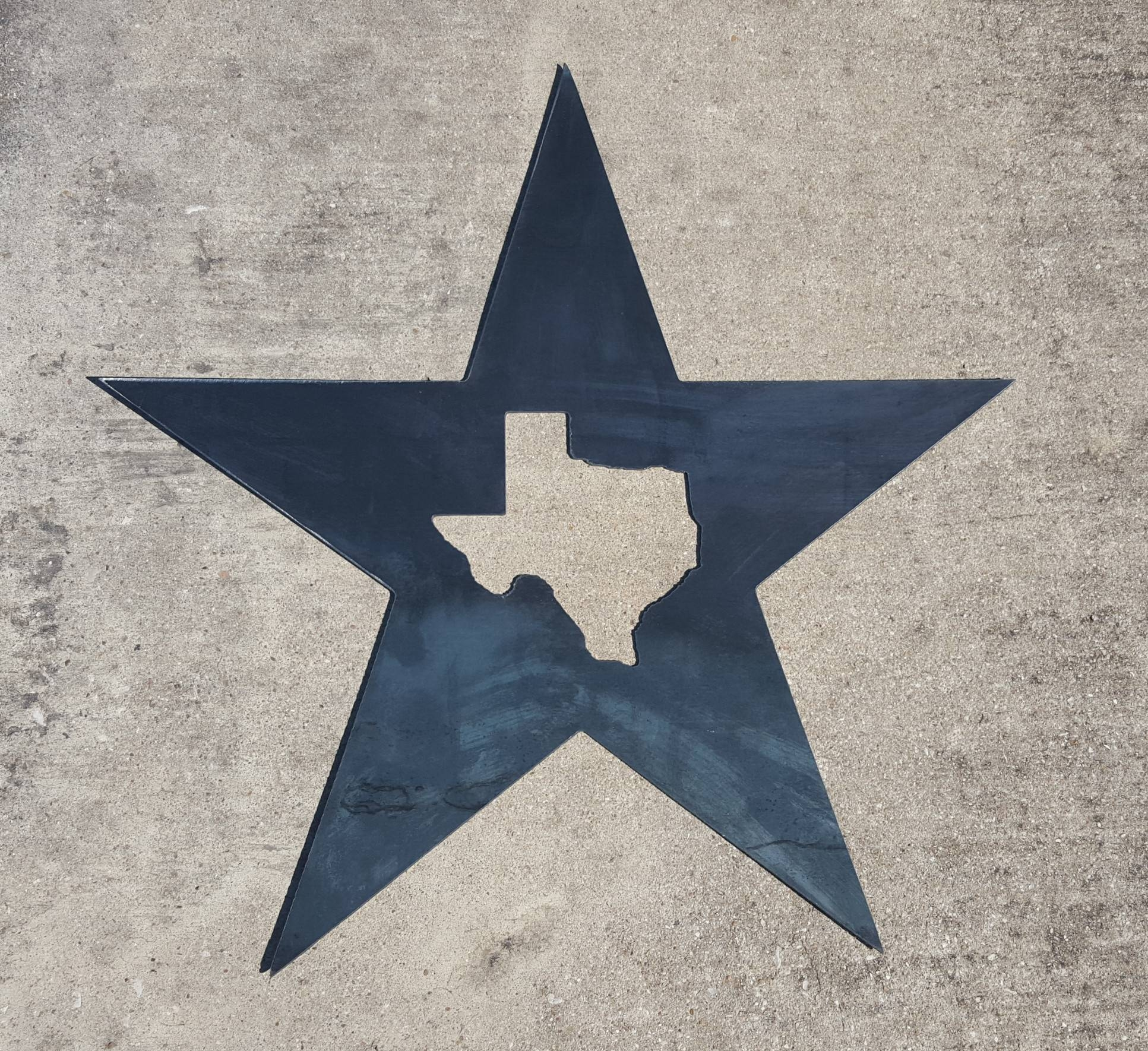 Texas Star Metal Wall Art | Blue Collar Welding Llc Intended For Most Recently Released Texas Star Metal Wall Art (View 6 of 20)
