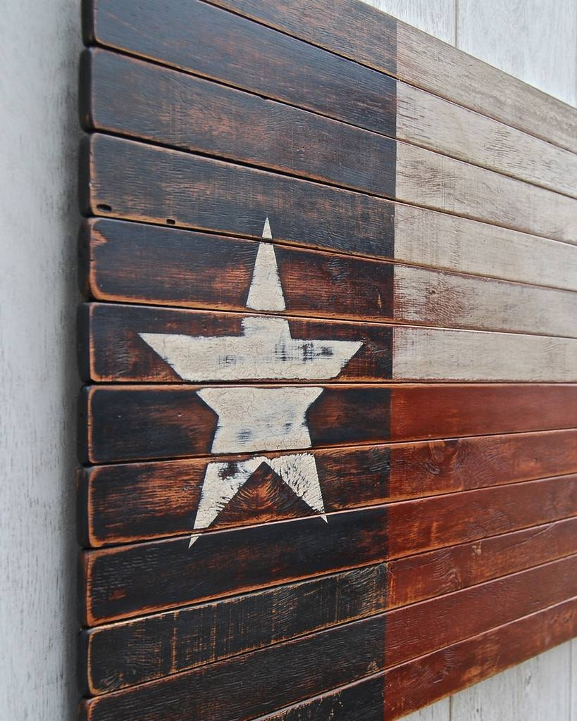Texas Star Wall Decor For Wood : How To Paint Like A Texas Star Regarding Current Texas Star Metal Wall Art (View 4 of 20)