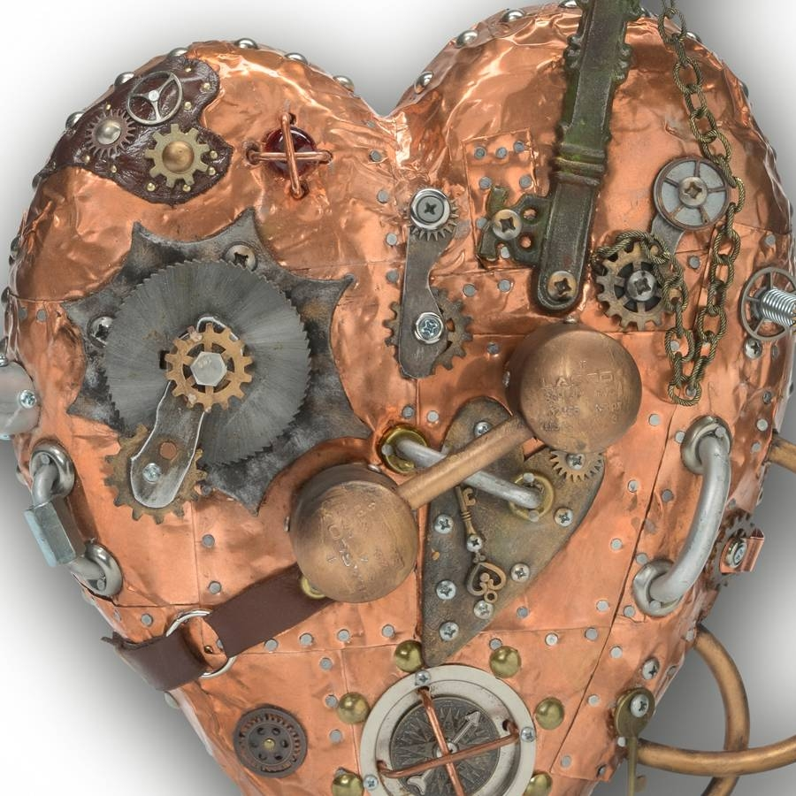 The Art Of Up Cycling: Metal Wall Art Inventive Recycle Upcycle Pertaining To 2017 Scrap Metal Wall Art (View 3 of 20)