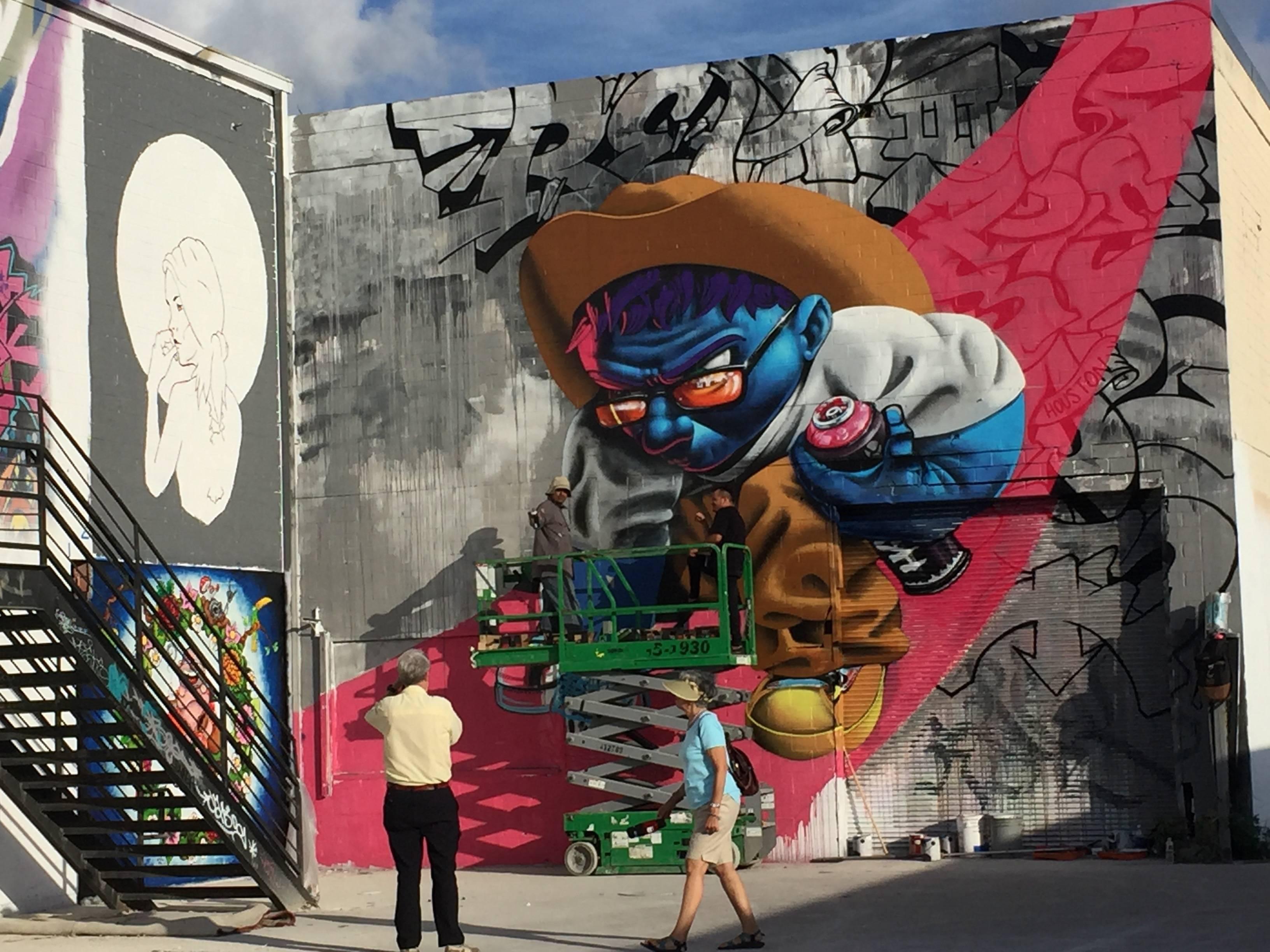 The Houston Urban Experience Mural Festival Is A Place Street Pertaining To Most Popular Houston Map Wall Art (View 17 of 20)