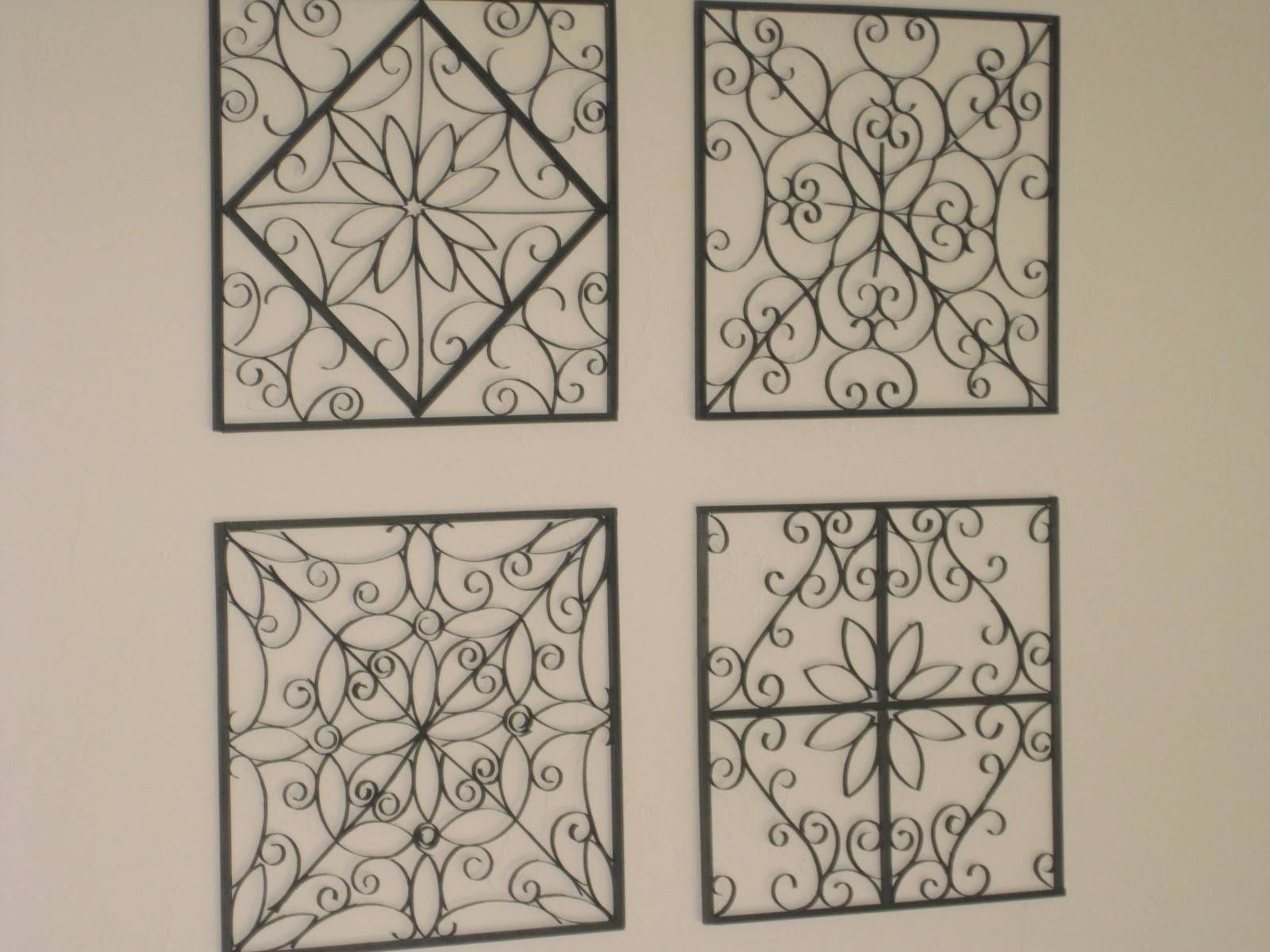 The Wilkins Family: Faux Metal Wall Art Tutorial With Newest Faux Metal Wall Art (Gallery 1 of 20)
