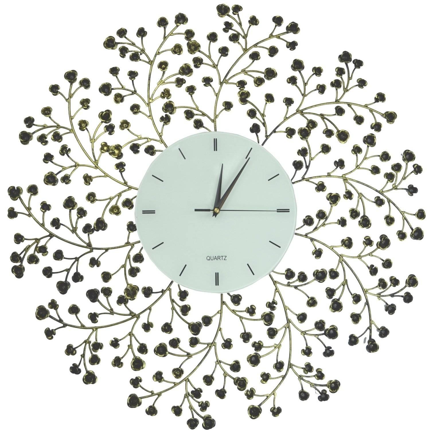Total Fab: September 2015 In Most Recent Large Metal Wall Art Clocks (Gallery 20 of 20)