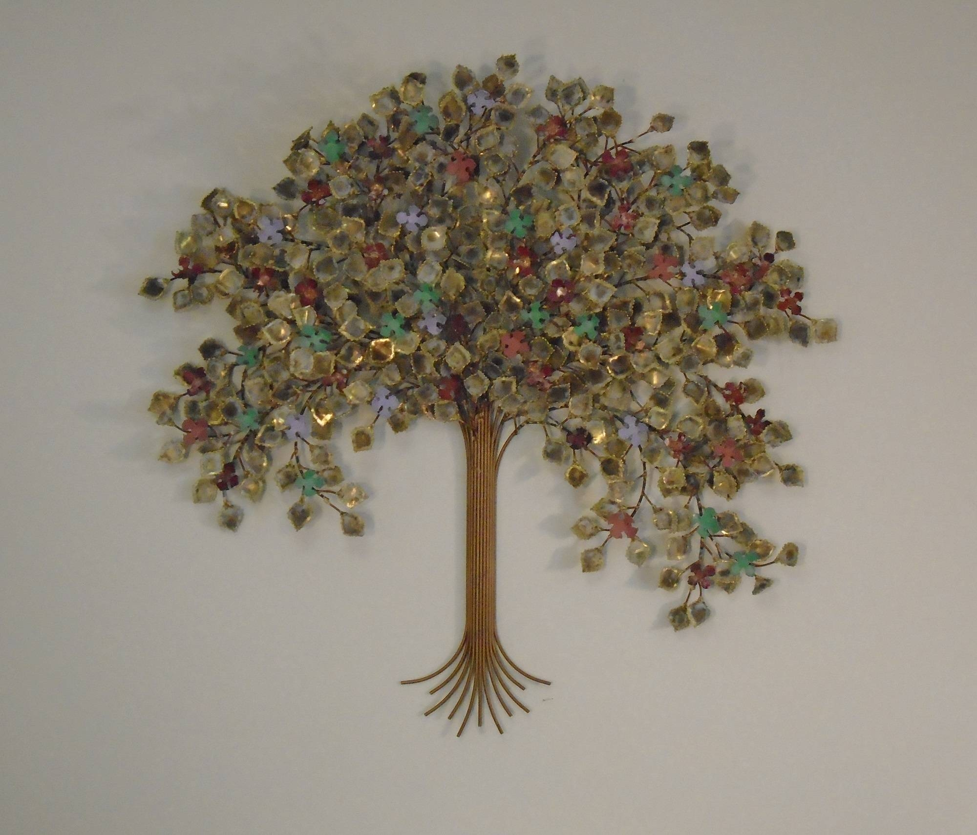 Tree Of Life Metal Wall Art – Metal Sculpture Wall Decor | Gurtan Throughout Recent Trees Metal Wall Art (View 15 of 20)