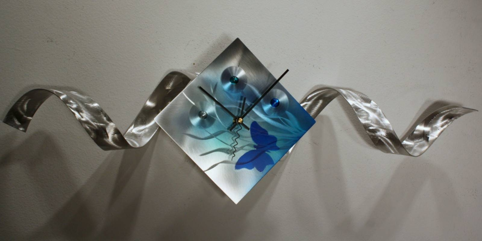 Trendy Set Metal Wall Art With Set Metal Wall Art Decorwith Regarding Most Up To Date Metal Wall Art Decor And Sculptures (View 17 of 20)
