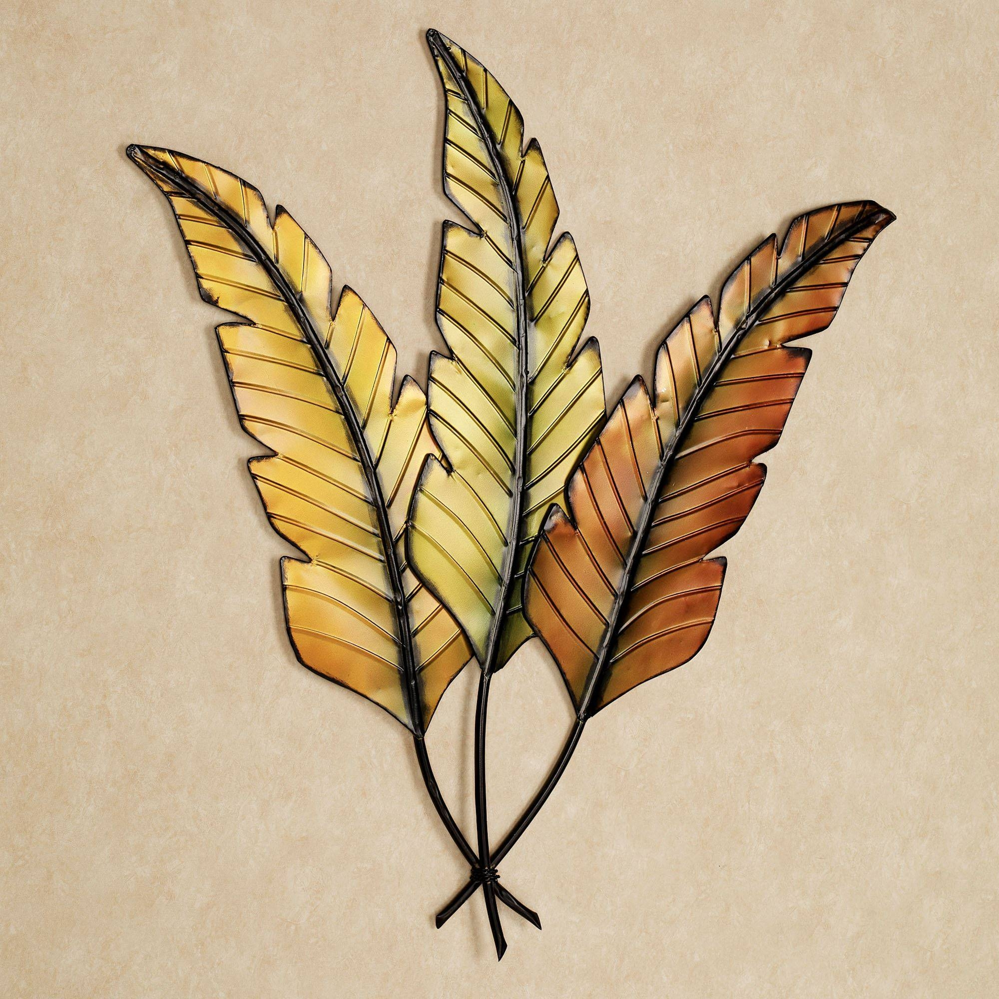 Tropical Wall Art | Touch Of Class Pertaining To Latest Leaf Metal Wall Art (View 17 of 20)