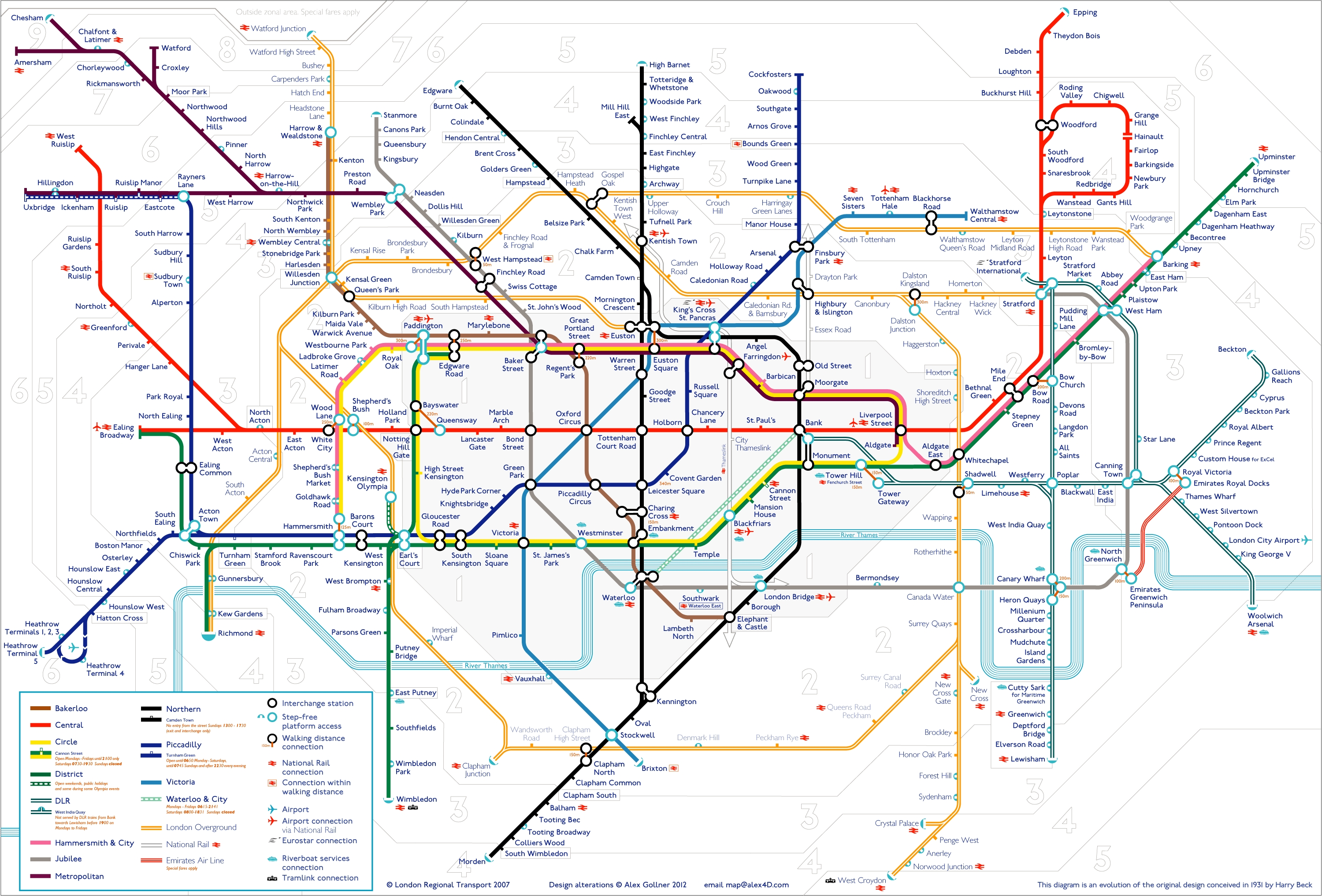 Tube Map | Alex4D Old Blog With 2018 London Tube Map Wall Art (View 16 of 20)