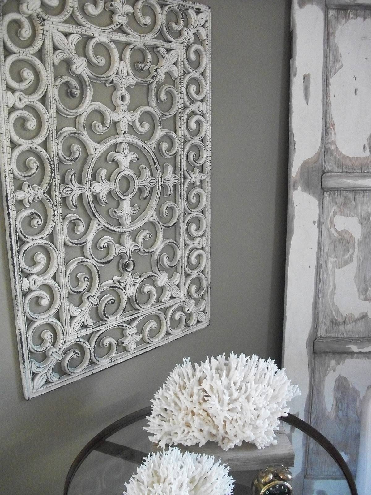 Turn A Rubber Door Mat Into Wall Art » Dollar Store Crafts For Most Recent Inexpensive Metal Wall Art (View 15 of 20)