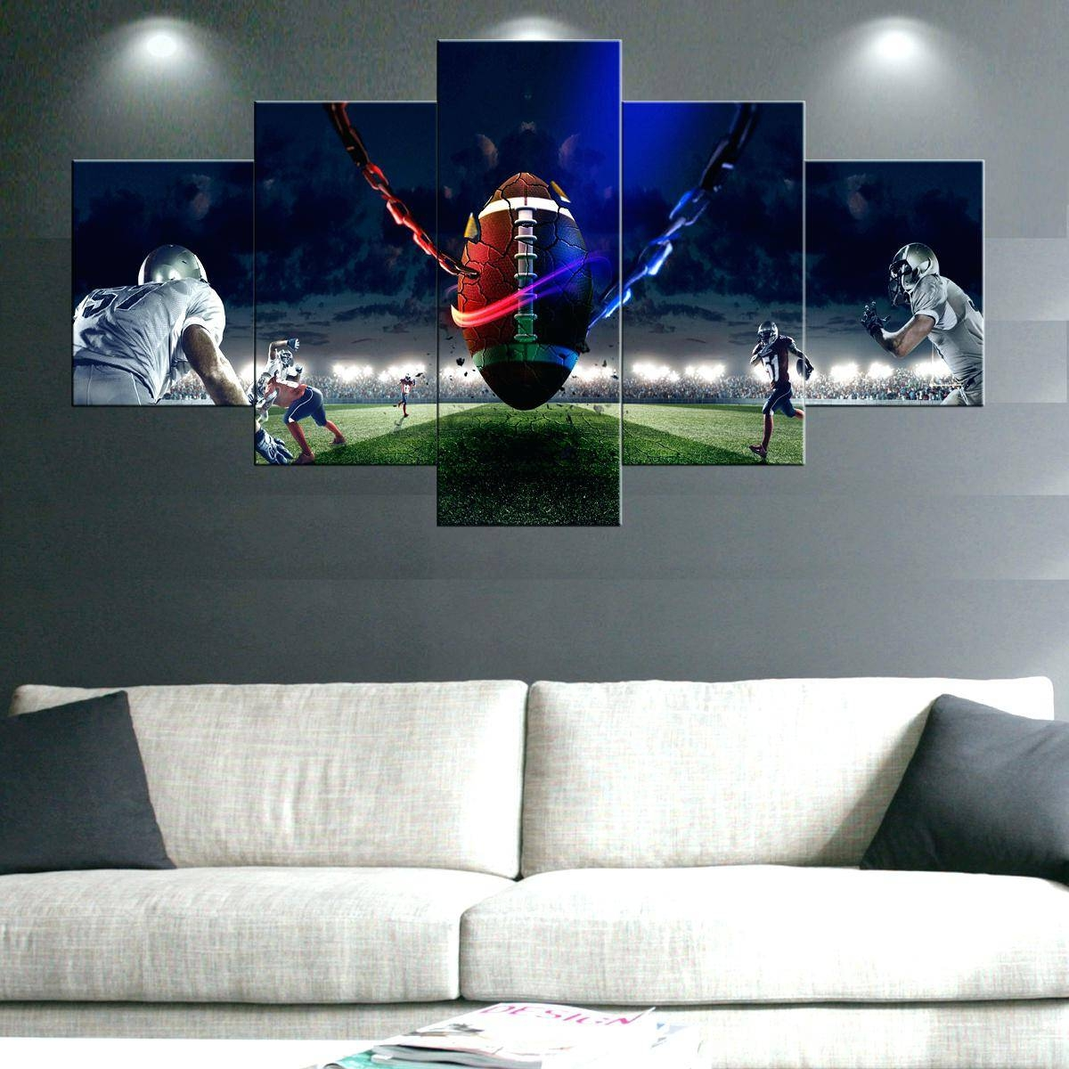 Featured Photo of Sports Metal Wall Art