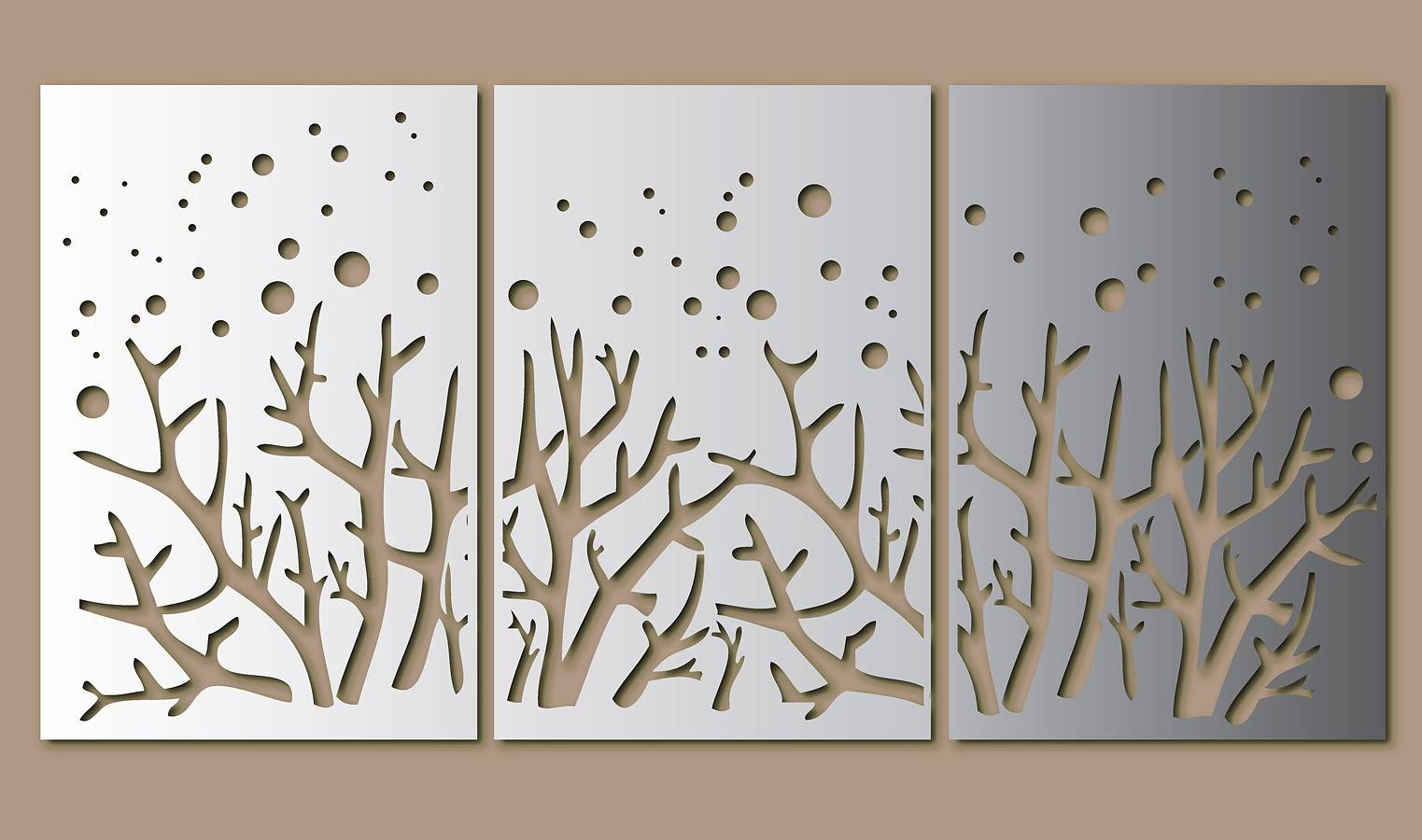 Unique Laser Gallery Inside Most Popular Laser Cut Metal Wall Art (View 13 of 20)