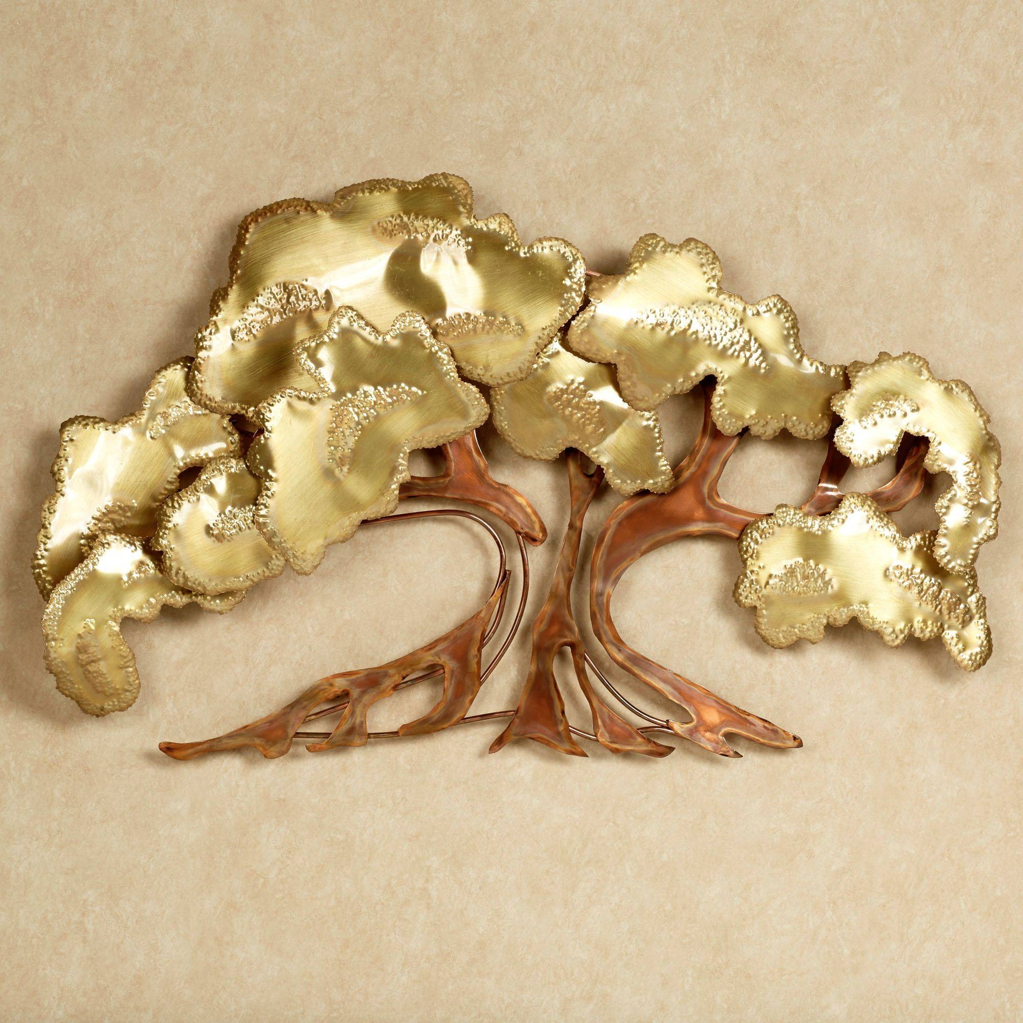 Unique Tree Of Life Metal Wall Art Decor Sculpture Desaign With pertaining to Recent Unique Metal Wall Art