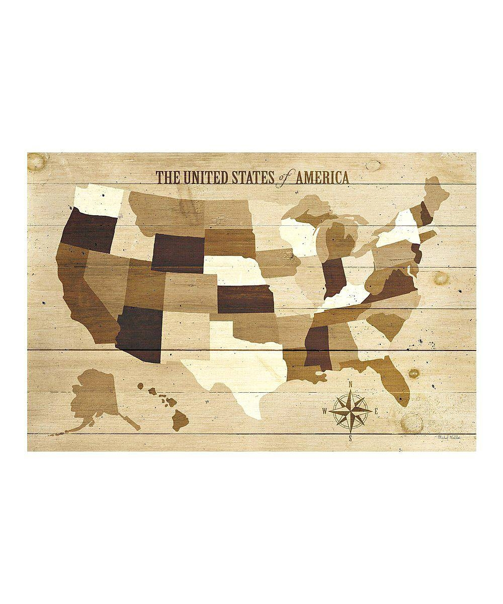 Vintage Us Map On Canvas License Plate Usa Map Wall Art Usa Modern Intended For Most Recently Released Usa Map Wall Art (View 14 of 20)